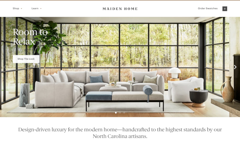 Maiden Home Screenshot Thumbnail