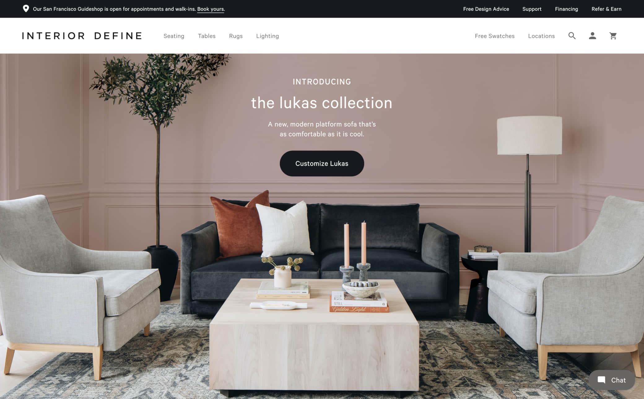 Interior Define Screenshot Main