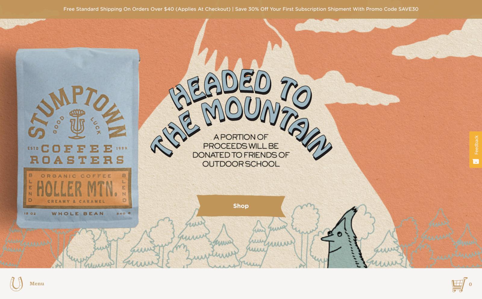 Stumptown Coffee Screenshot Thumbnail