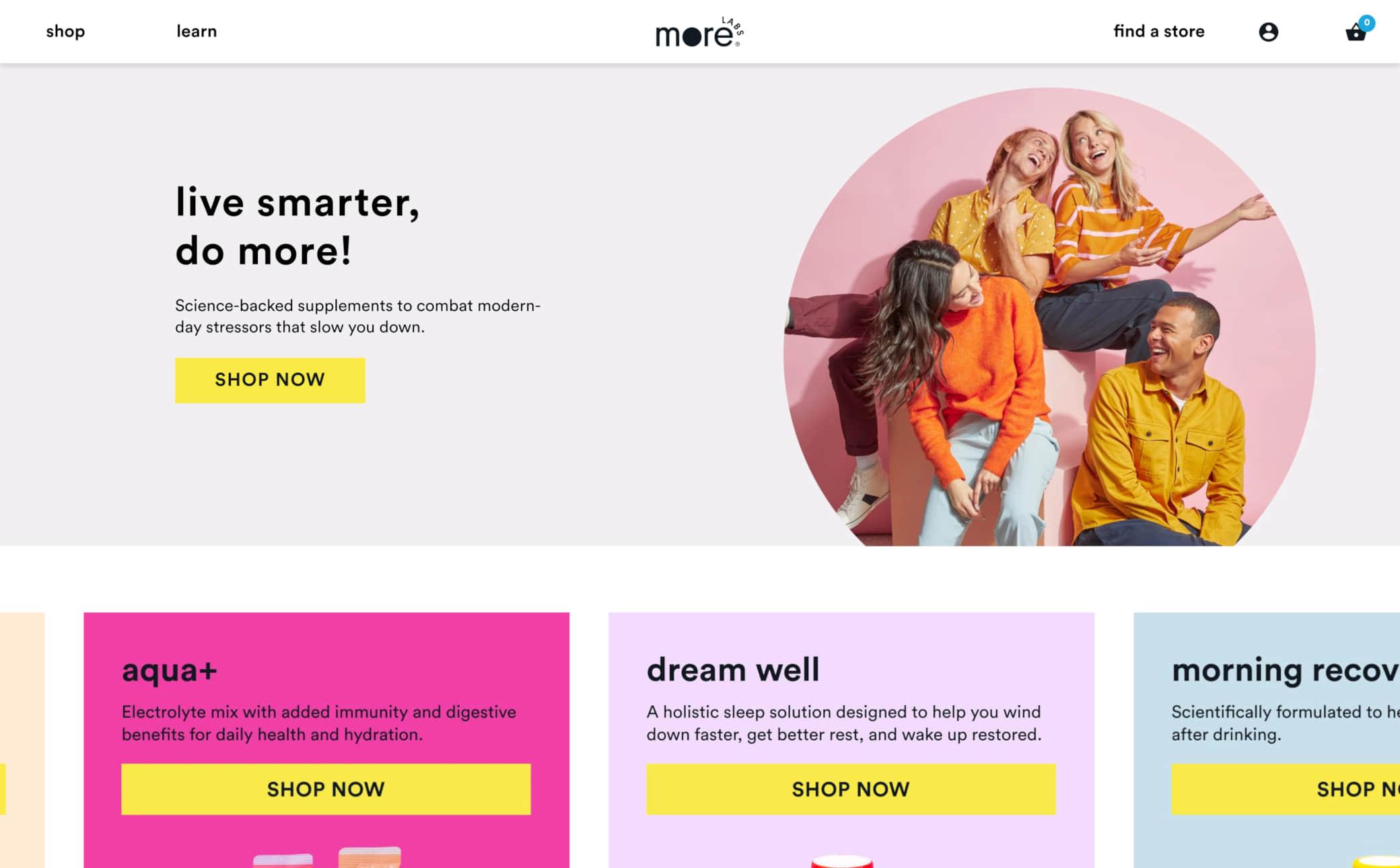More Labs Screenshot Main