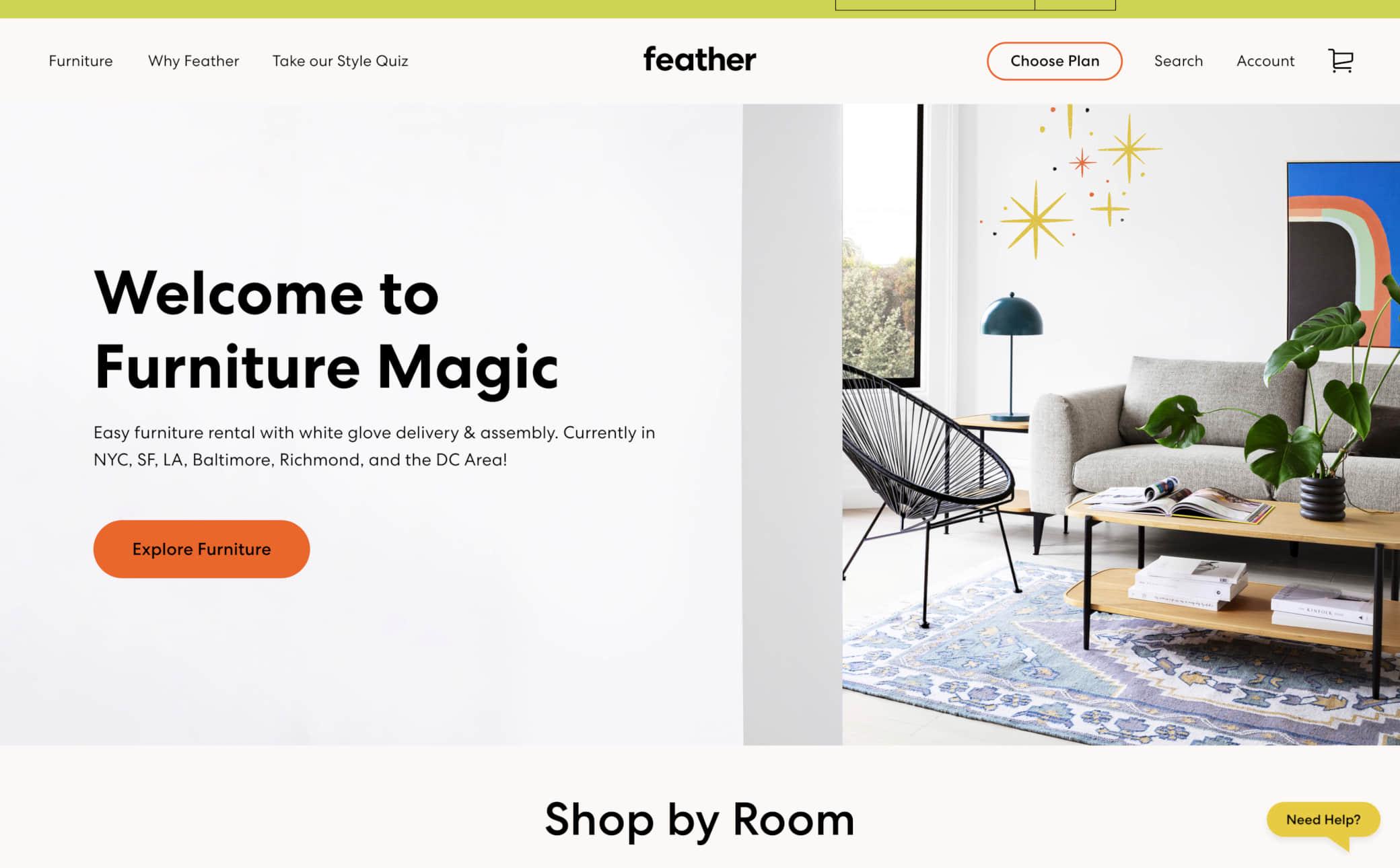 Feather Screenshot Main