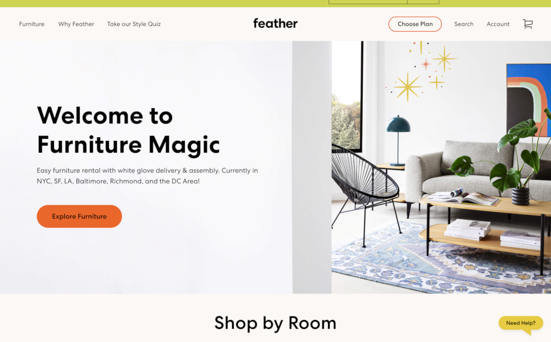 Feather Screenshot Thumbnail