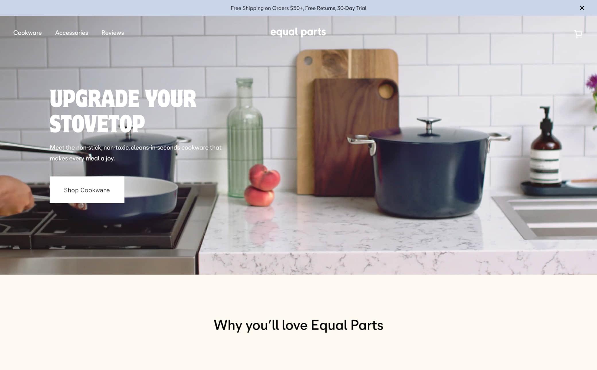 Equal Parts Screenshot Main