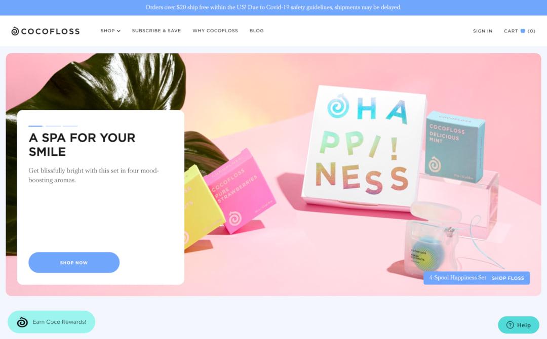 Cocofloss Screenshot Thumbnail