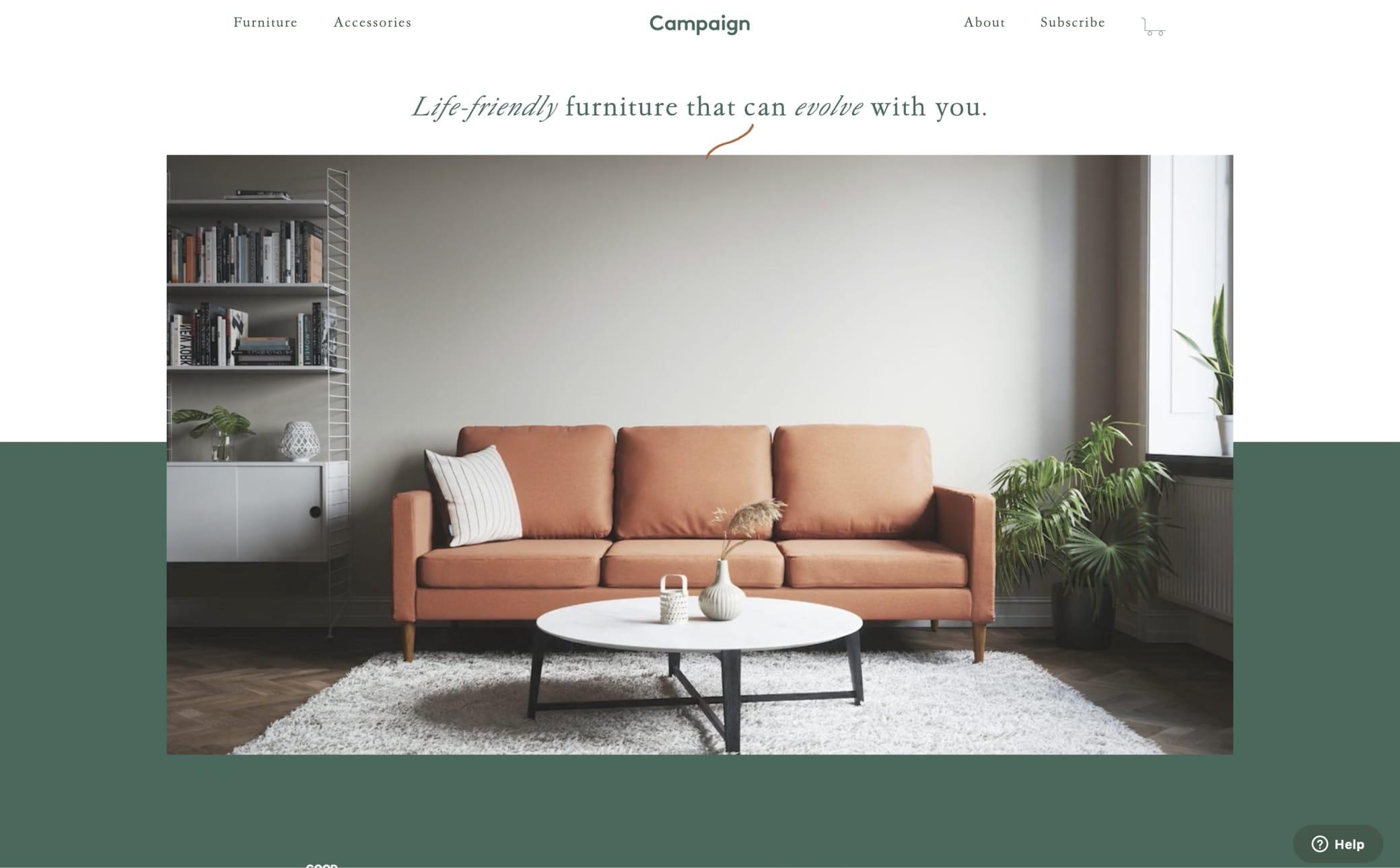 Campaign Screenshot Main