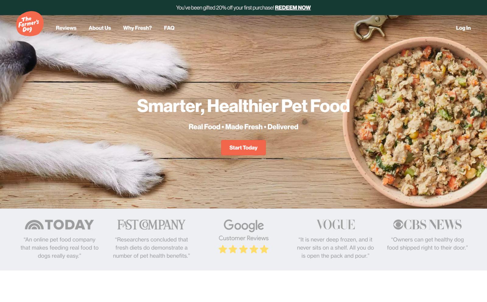 The Farmer's Dog Screenshot Thumbnail