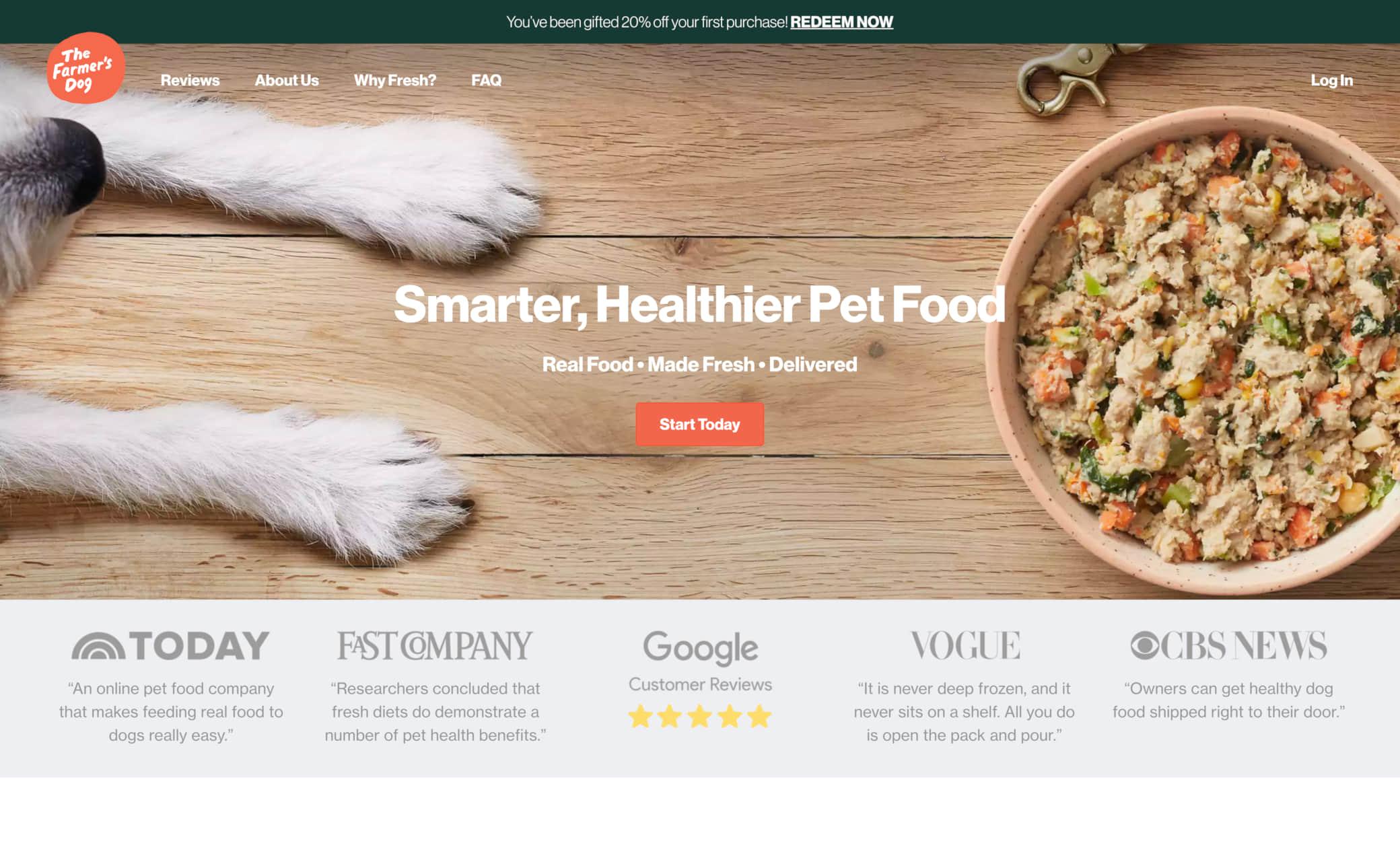 The Farmer's Dog Screenshot Main