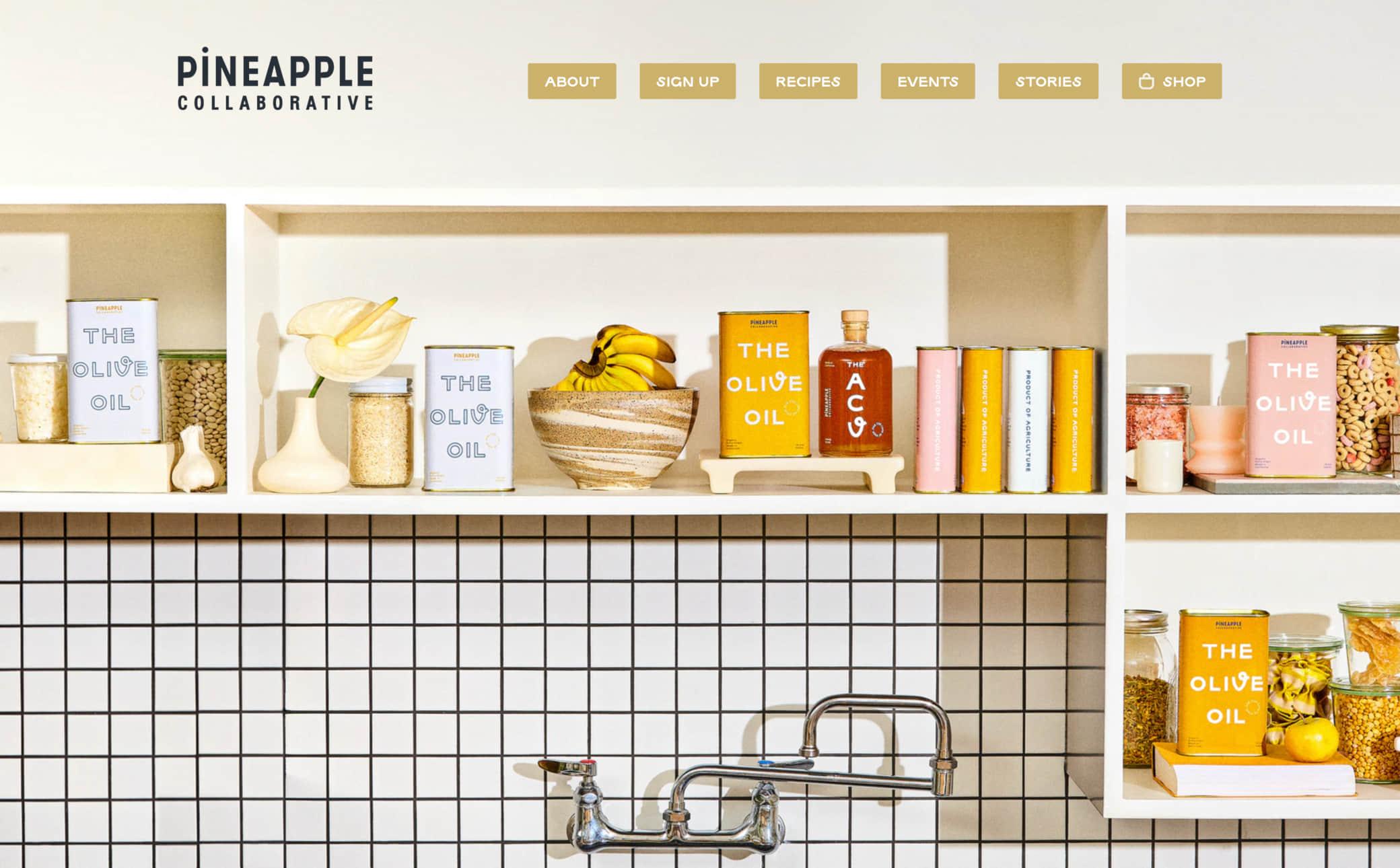 Pineapple Collaborative Screenshot Main
