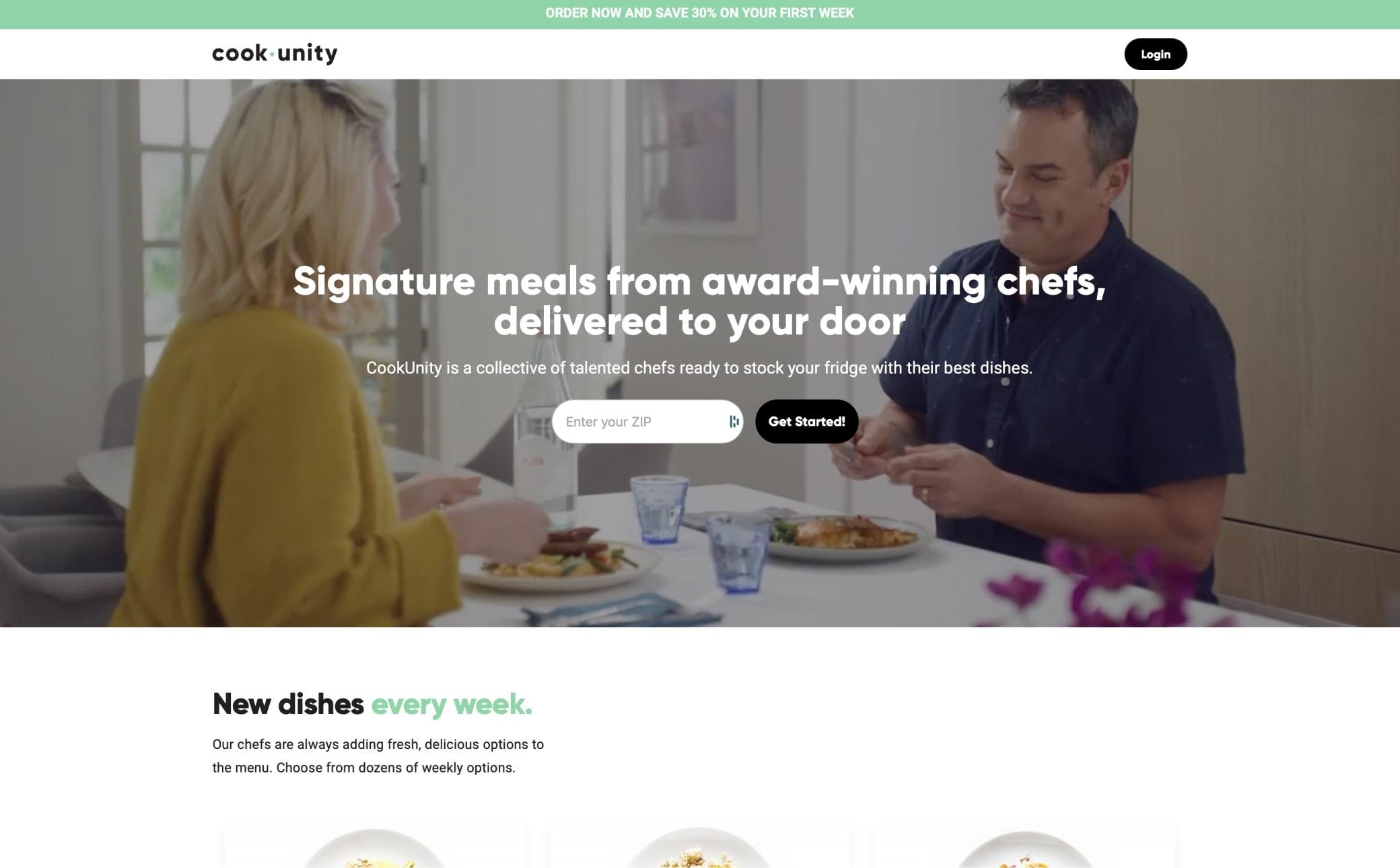 CookUnity Screenshot Main