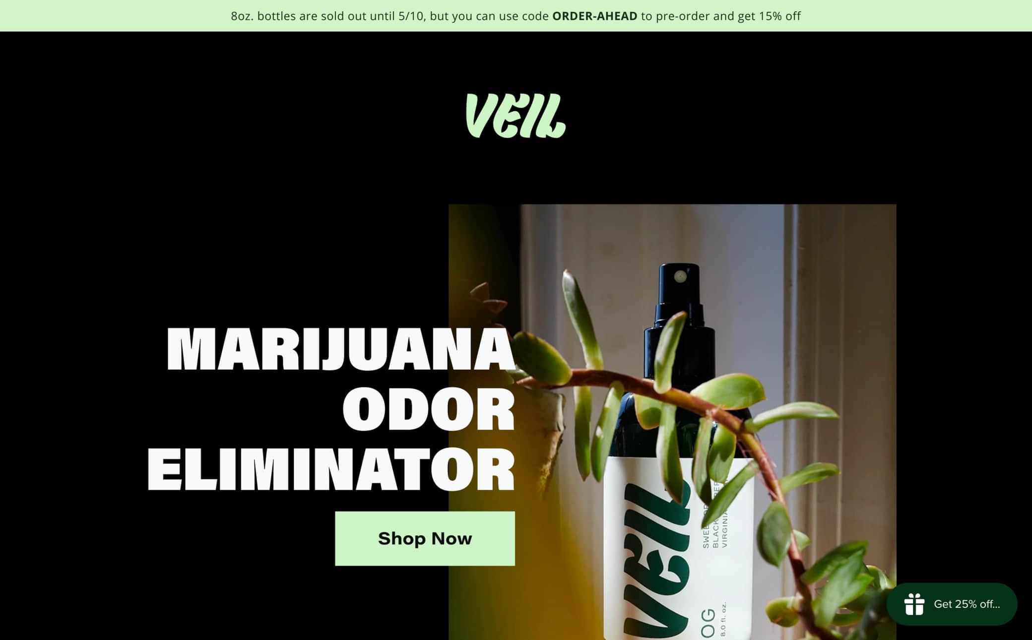 Veil Screenshot Main