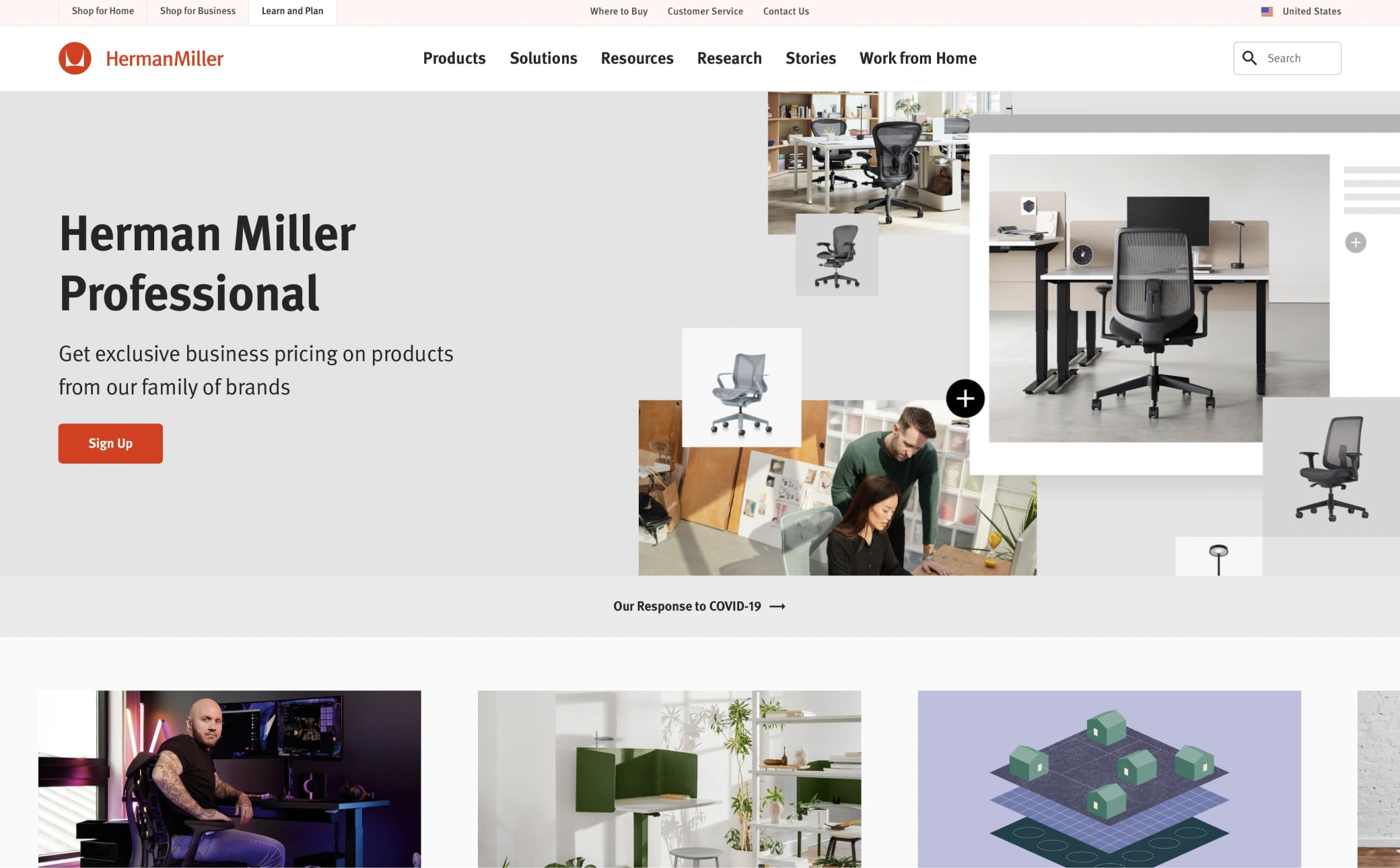Herman Miller Screenshot Main