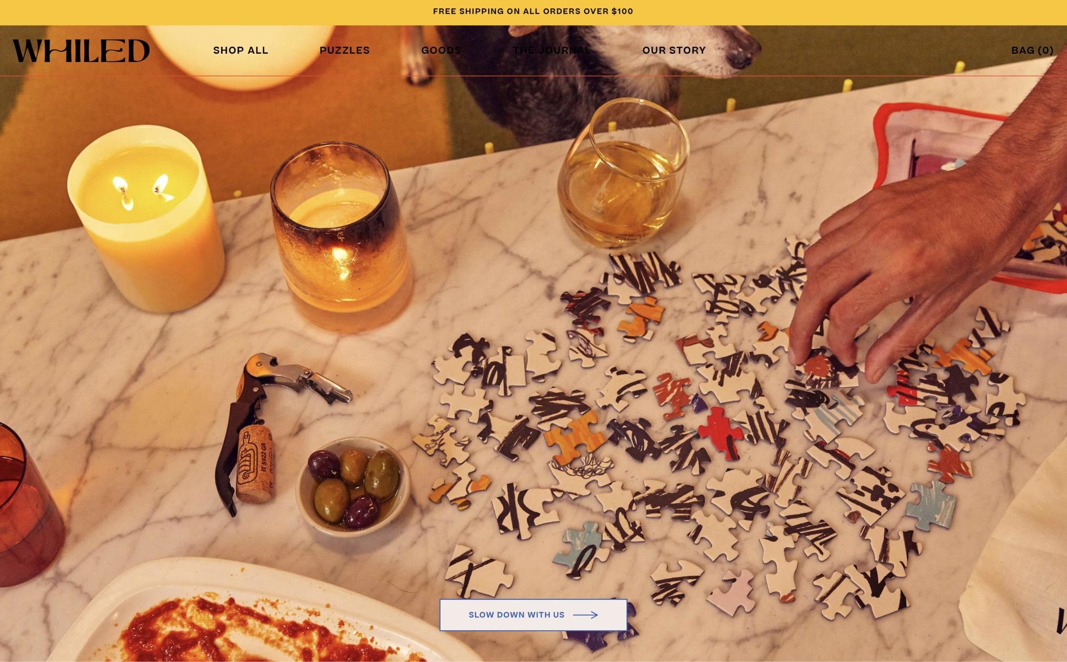 Whiled Screenshot Main