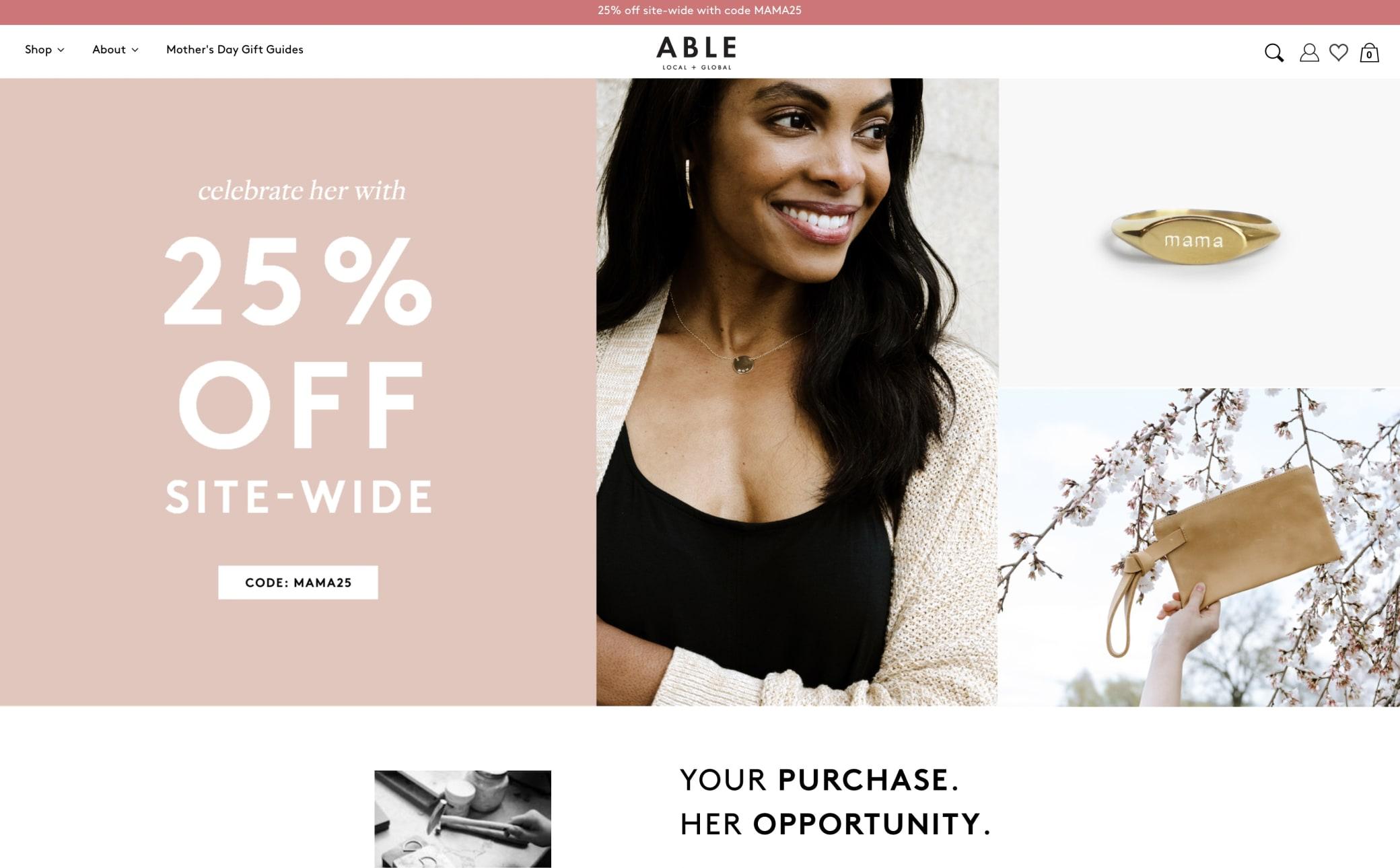 ABLE Screenshot Main