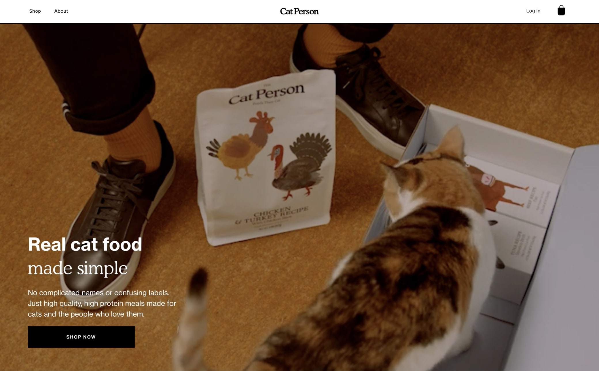 Cat Person Screenshot Main