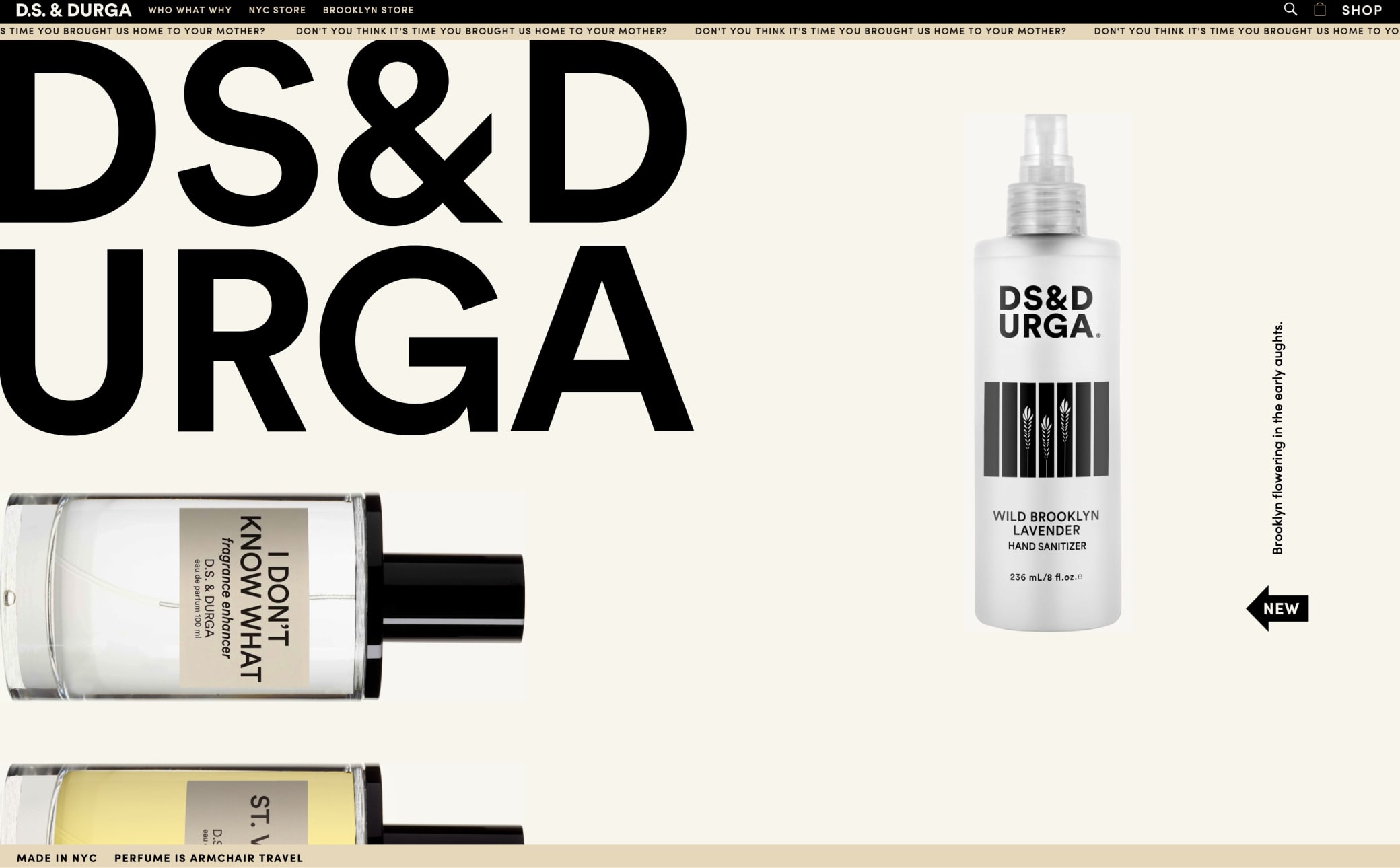 D.S. & DURGA Screenshot Main
