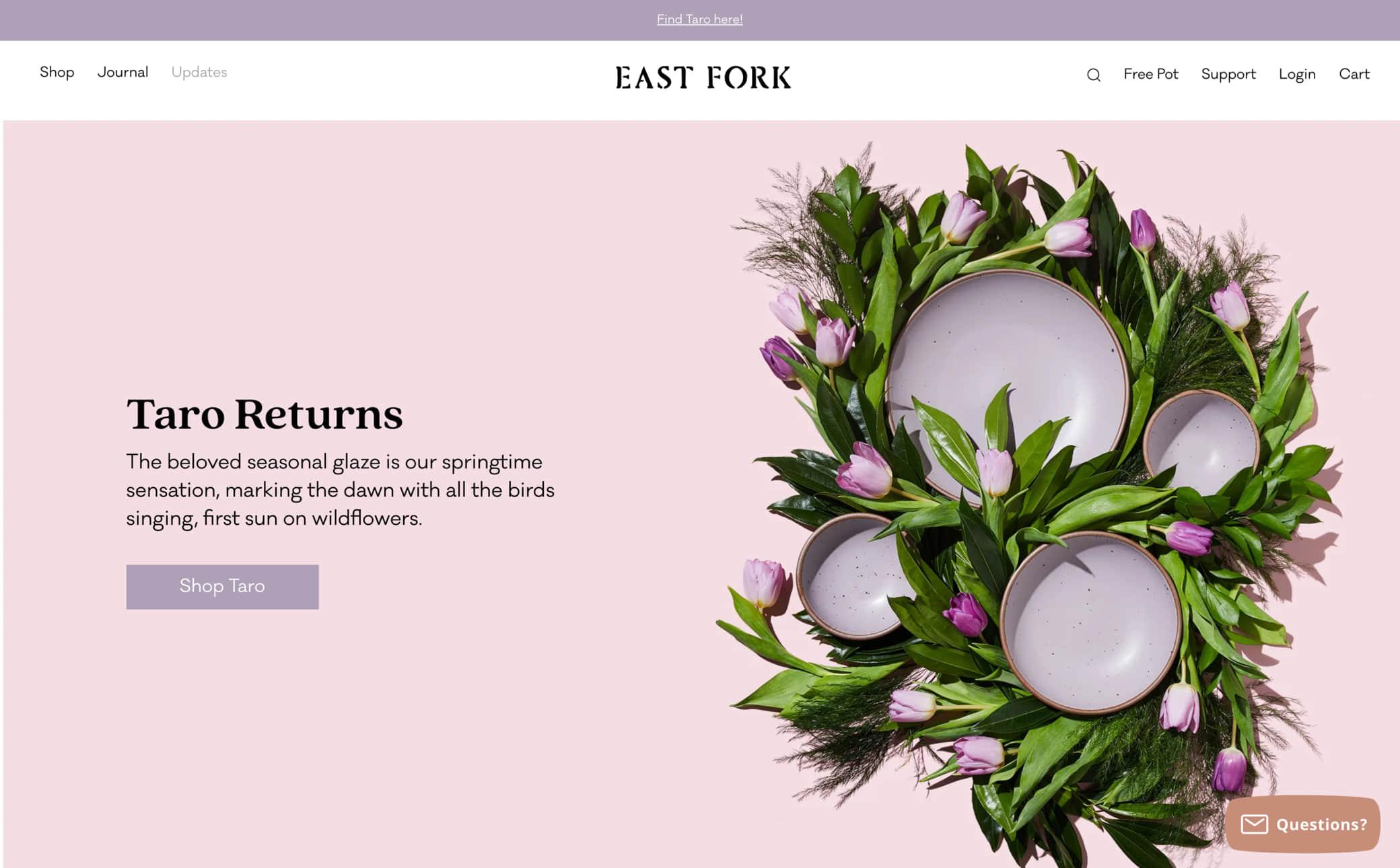 East Fork Screenshot Main