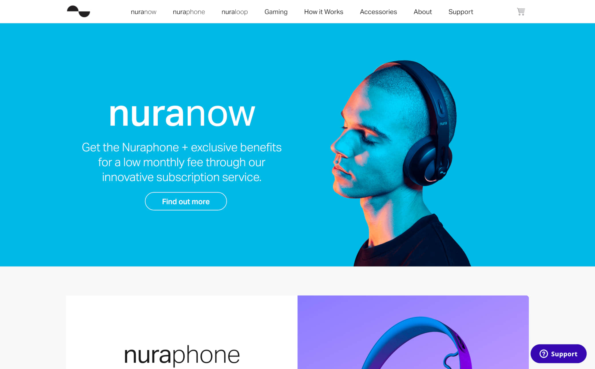 Nura Screenshot Main