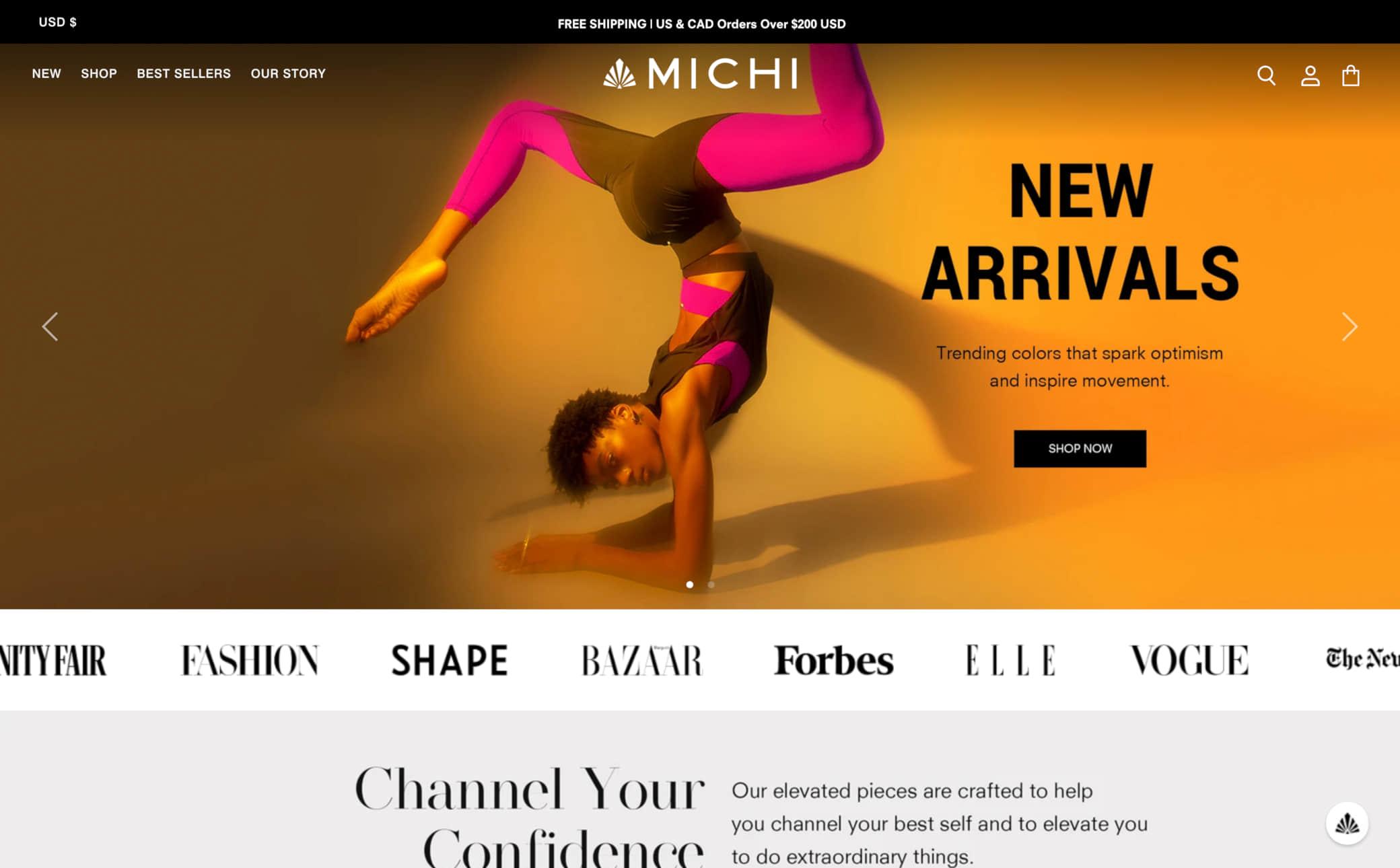 Michi Screenshot Main