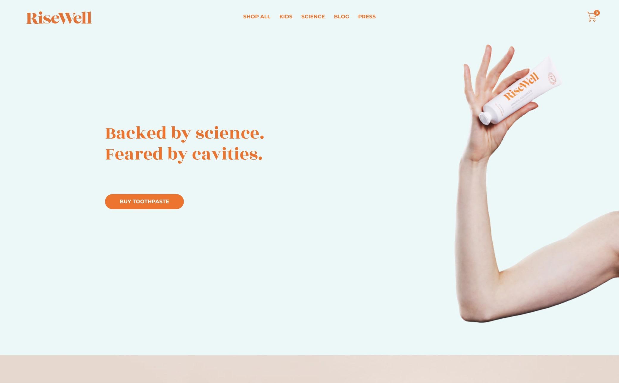 RiseWell Screenshot Main