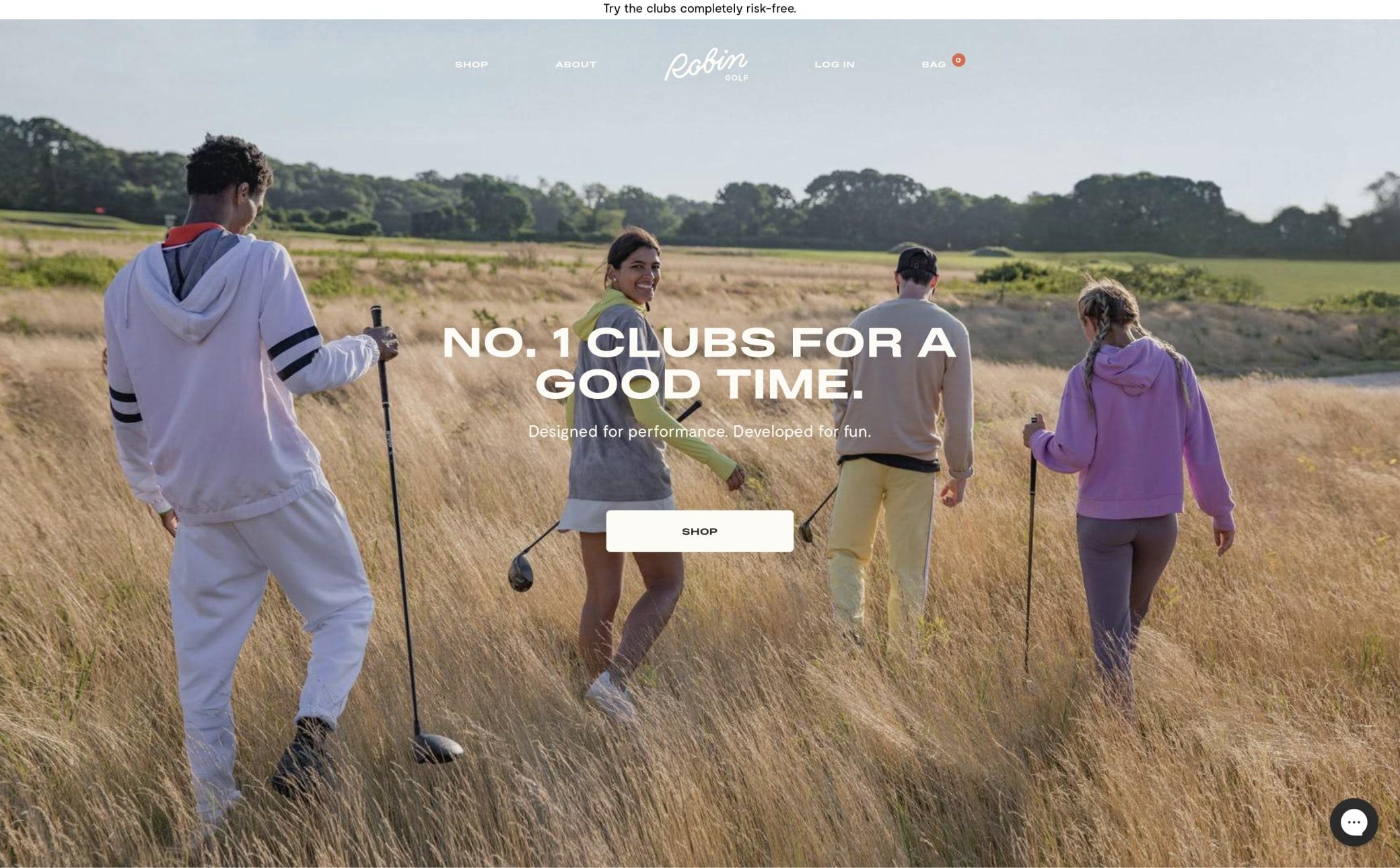 Robin Golf Screenshot Main