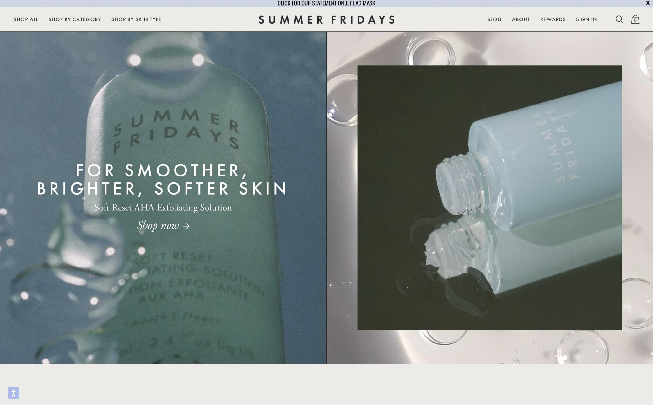 Summer Fridays Screenshot Main