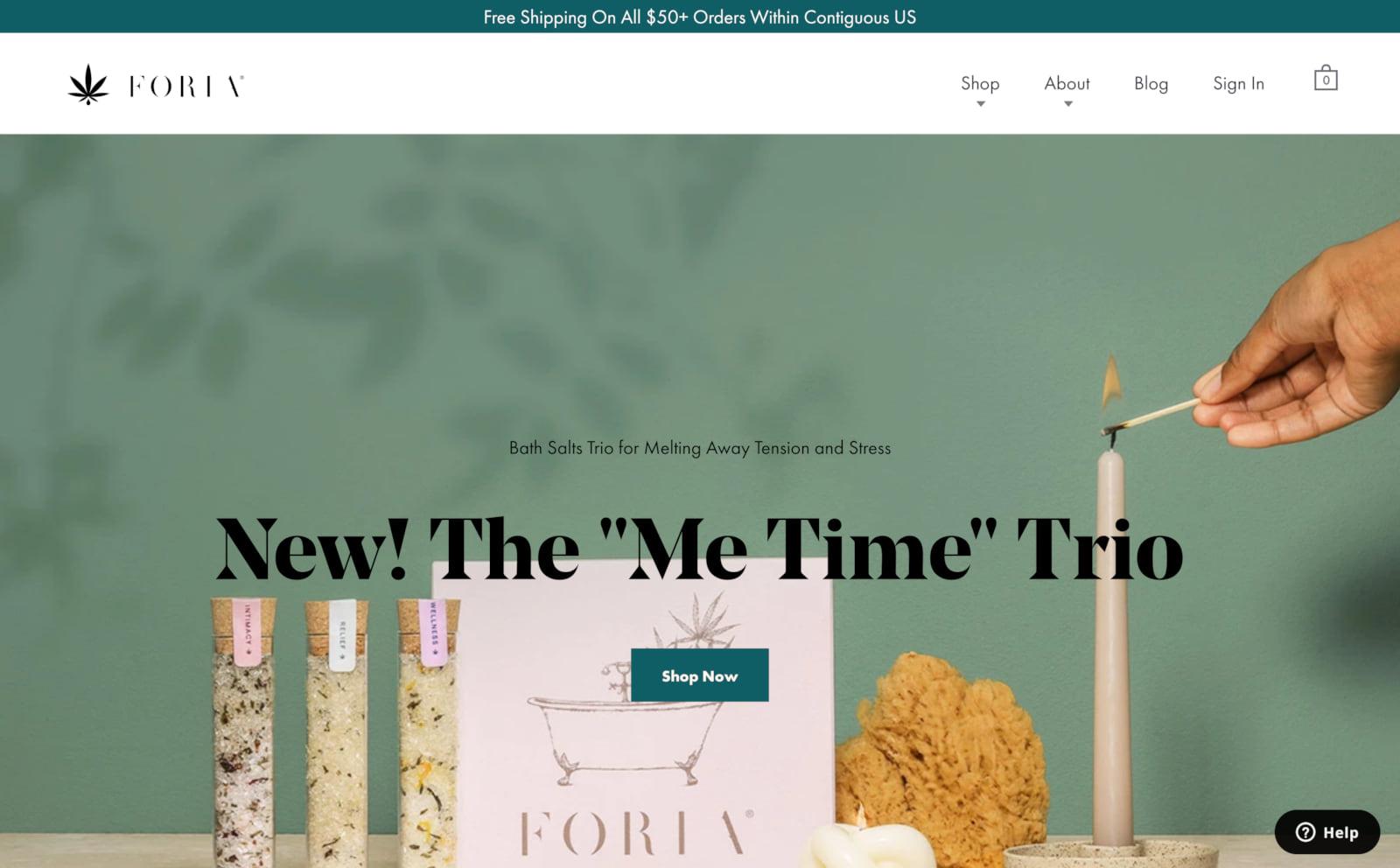 Foria Screenshot Thumbnail