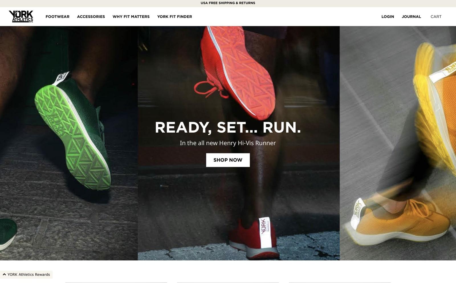 York Athletics Screenshot Thumbnail