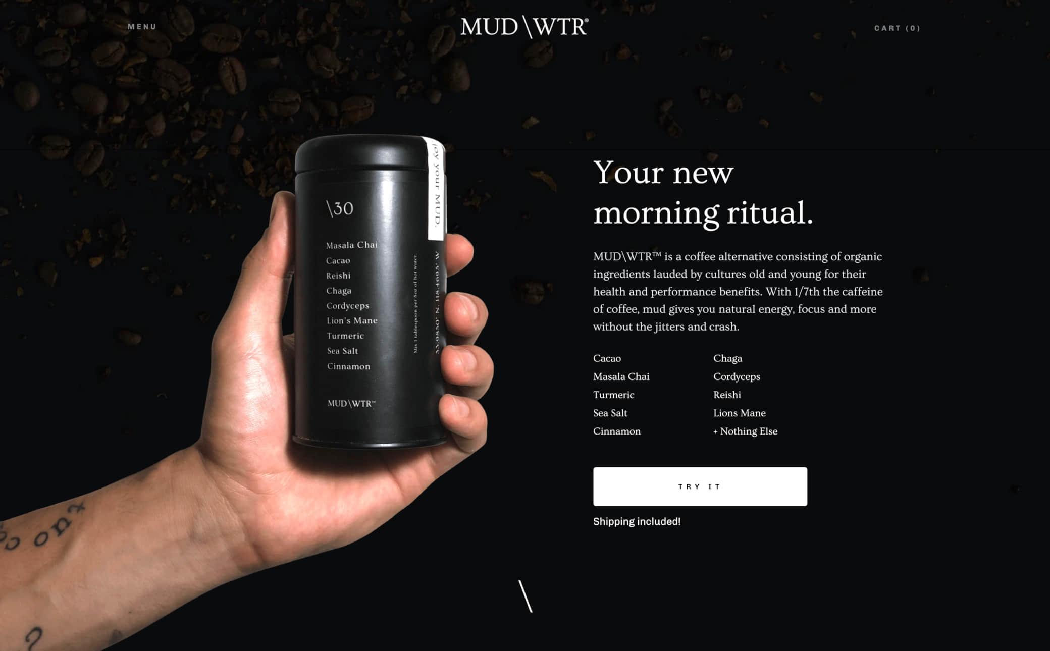 MUD/WTR Screenshot Main