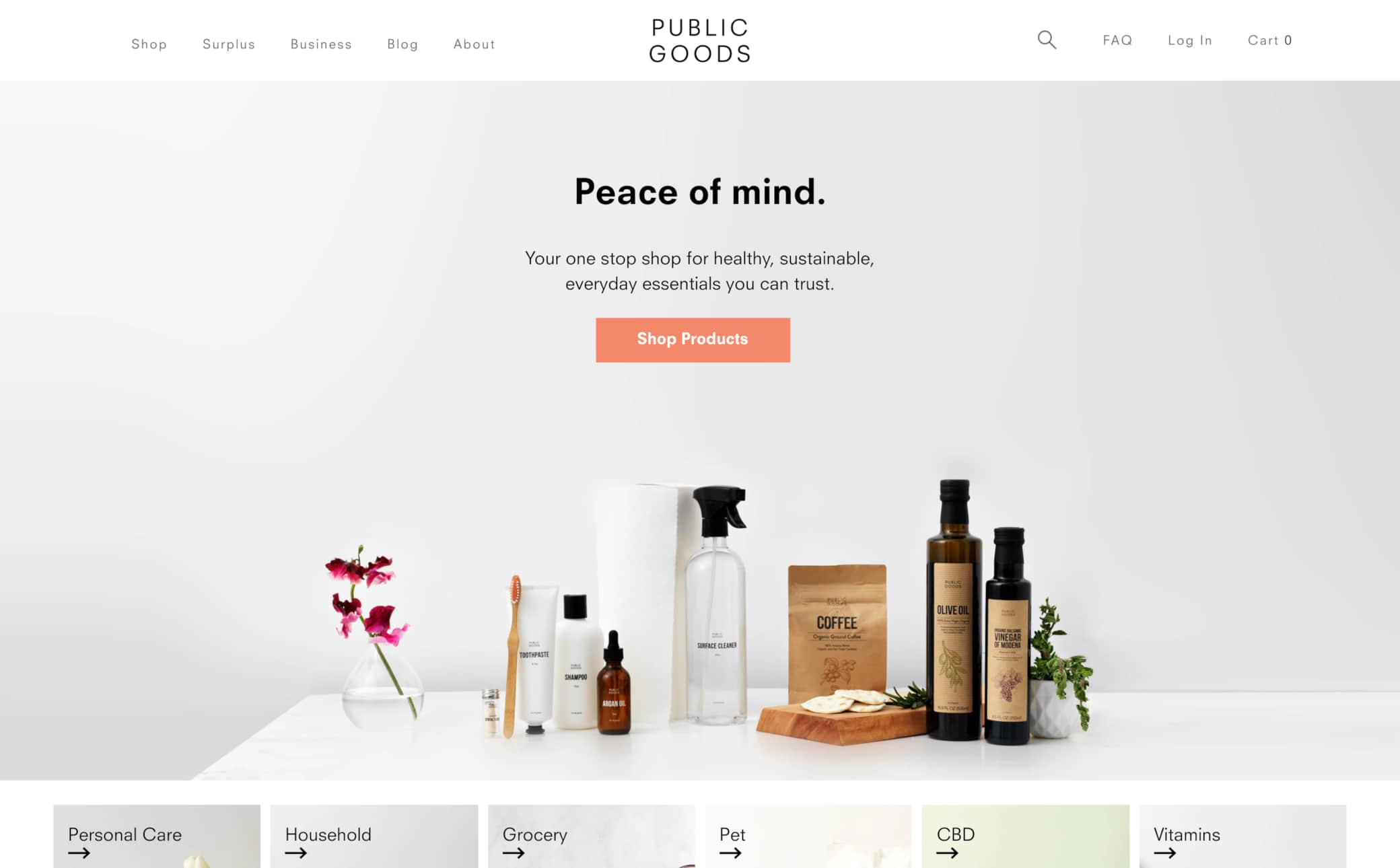 Public Goods Screenshot Main