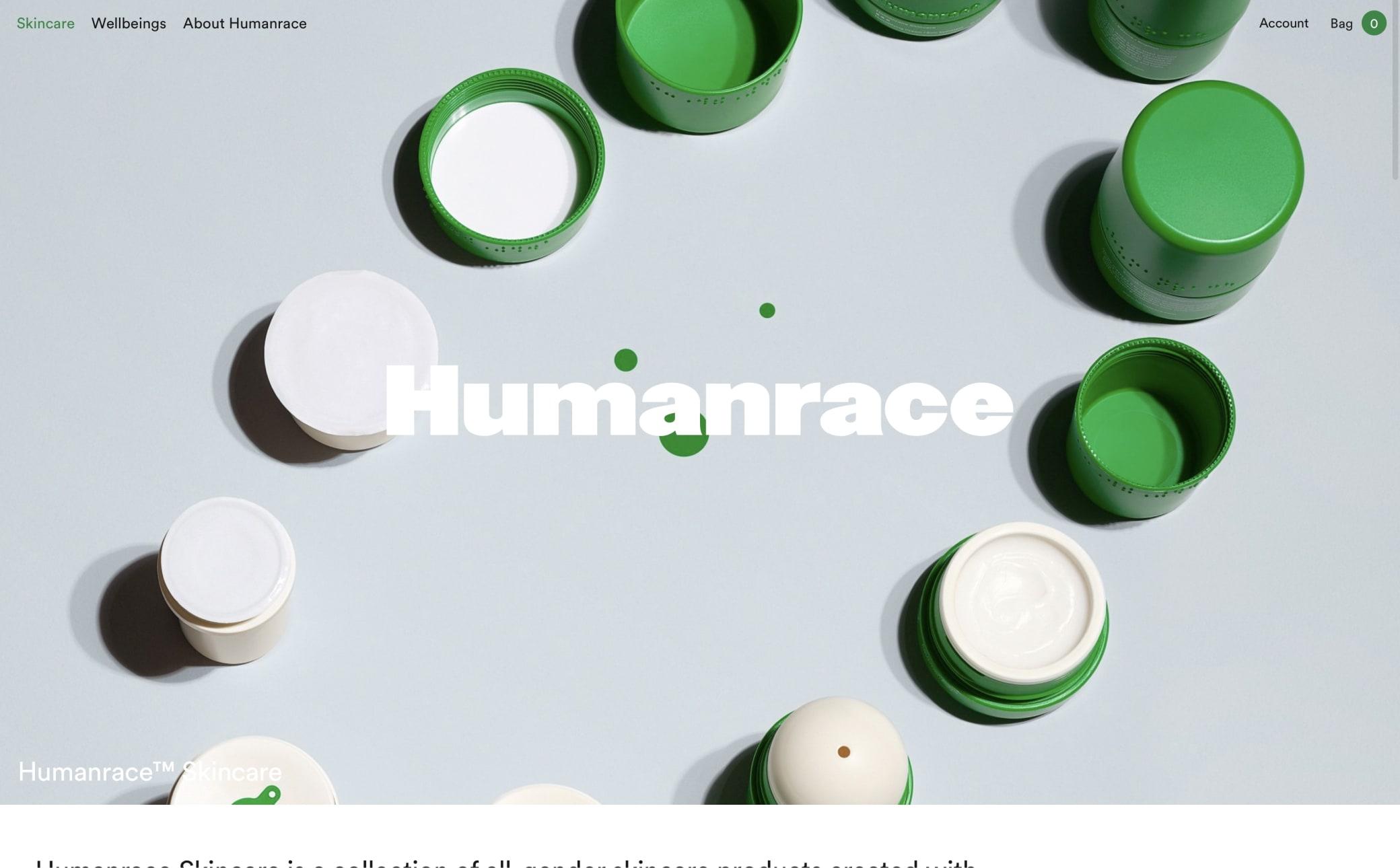 Humanrace Screenshot Main