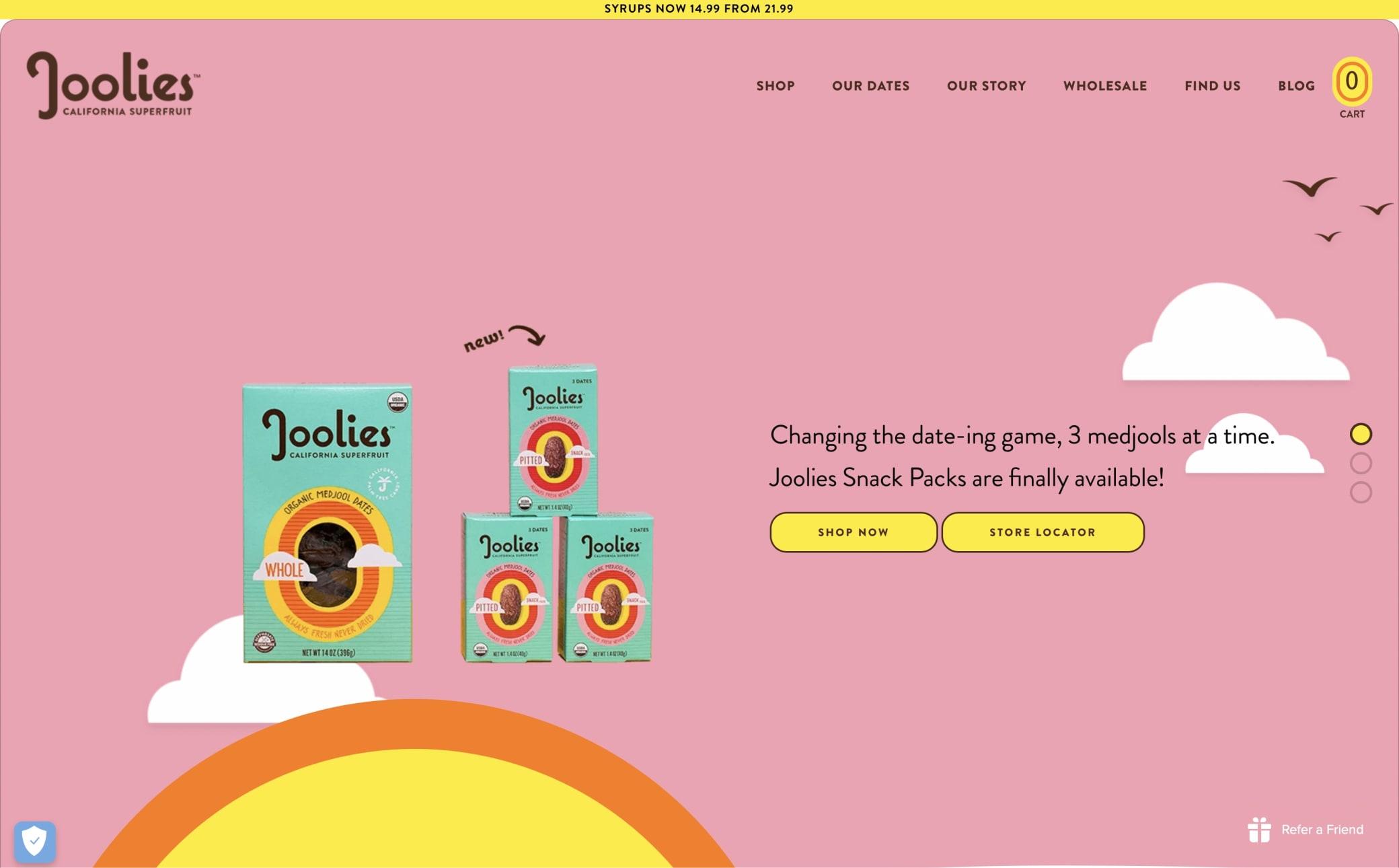 Joolies Screenshot Main