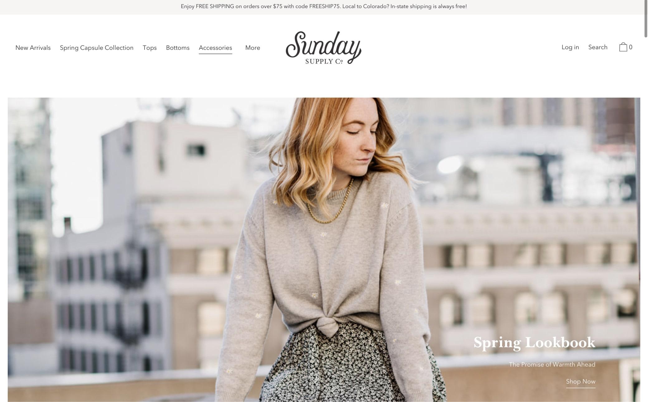 Sunday Supply Co. Screenshot Main