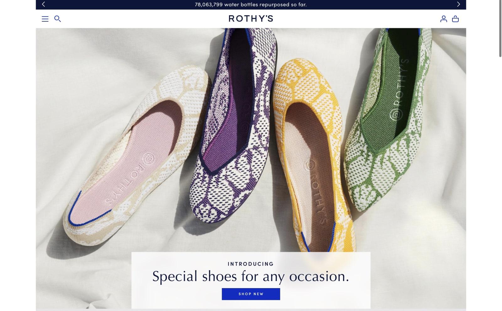 Rothy's Screenshot Thumbnail