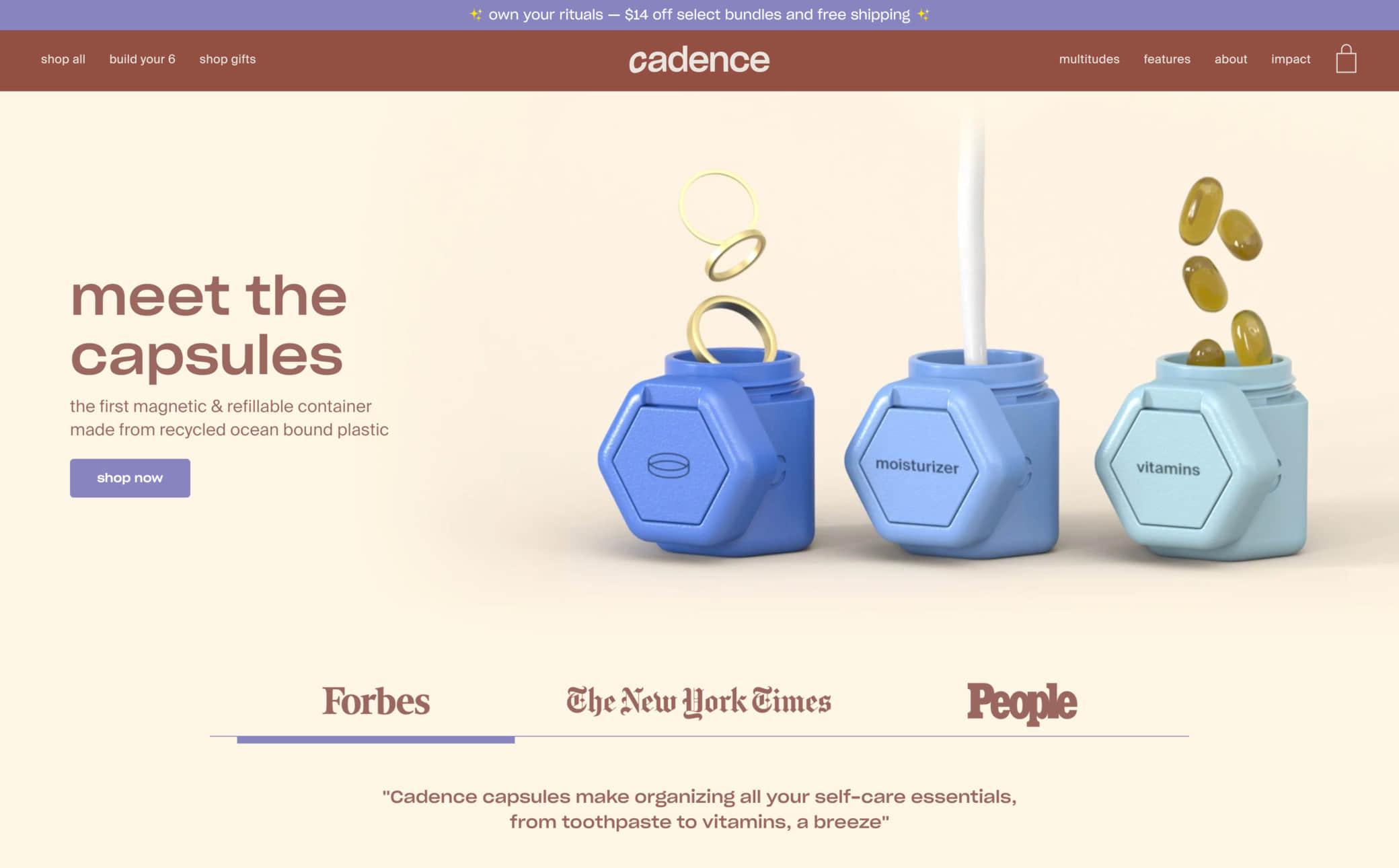 Cadence Screenshot Main