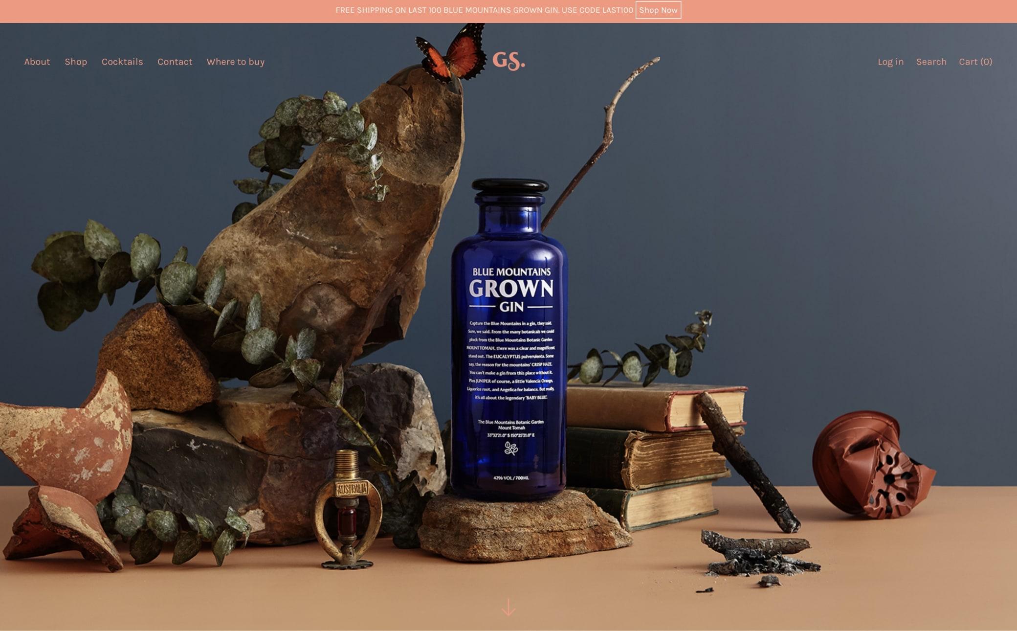Grown Spirits Screenshot Main