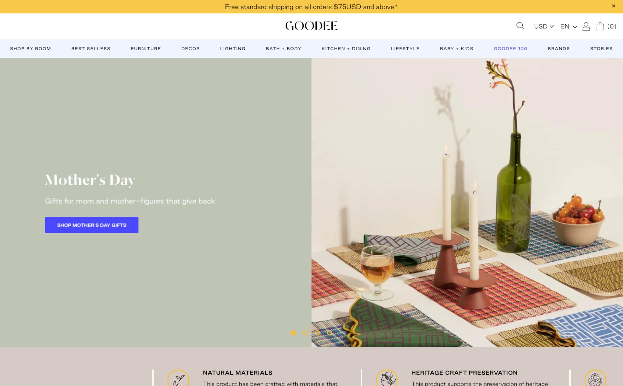 Goodee Screenshot Main