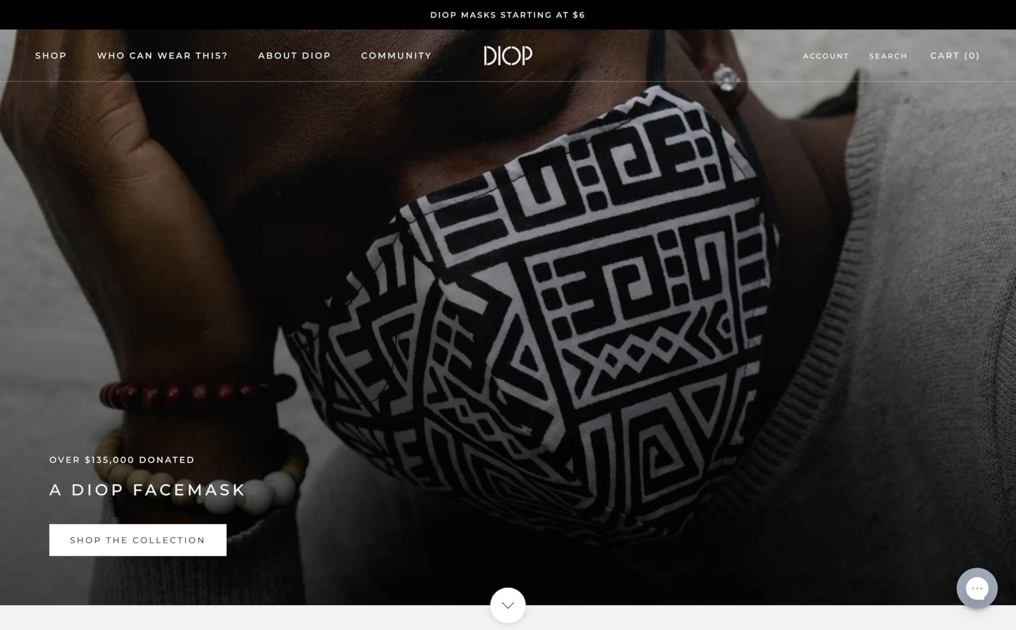 DIOP Screenshot Main