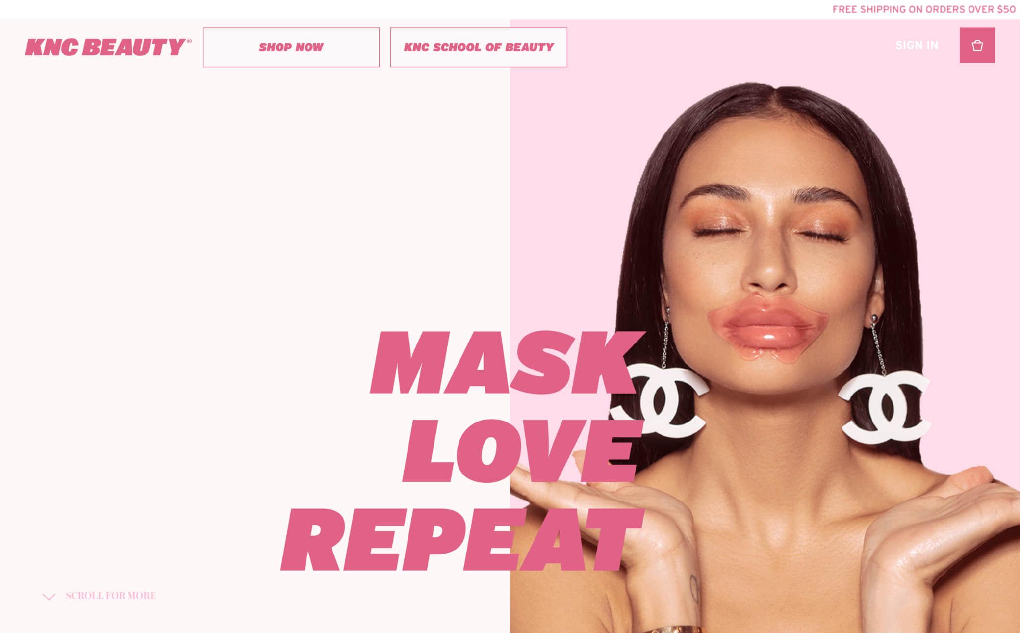 KNC Beauty Screenshot Main