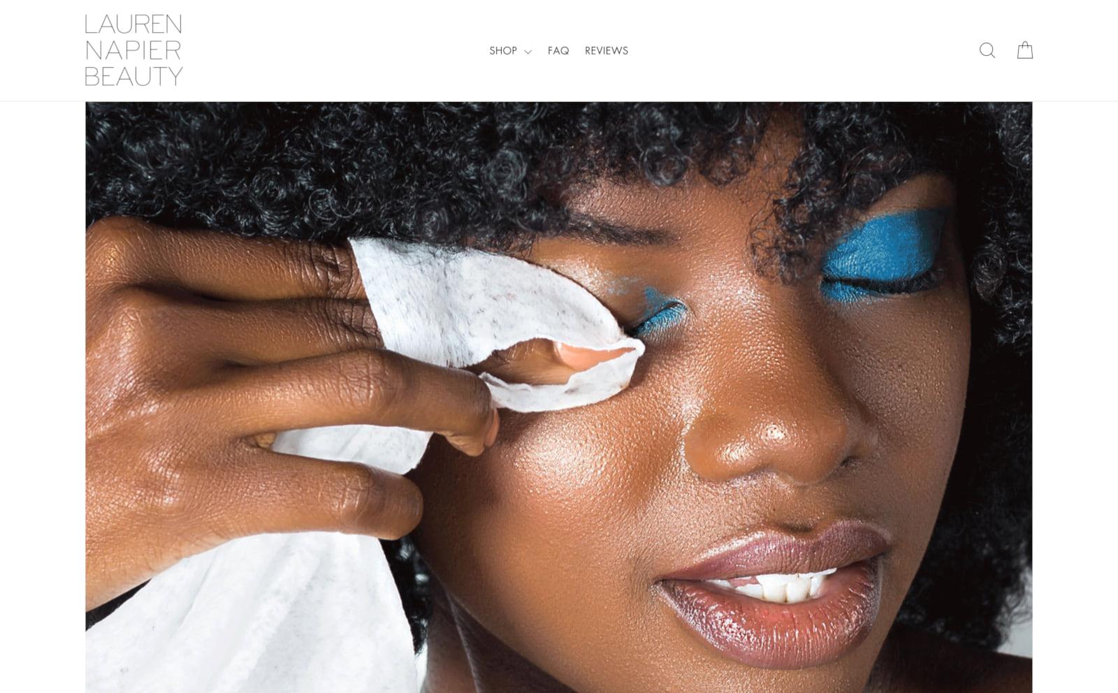 Laurenna Pier Beauty Screenshot Thumbnail