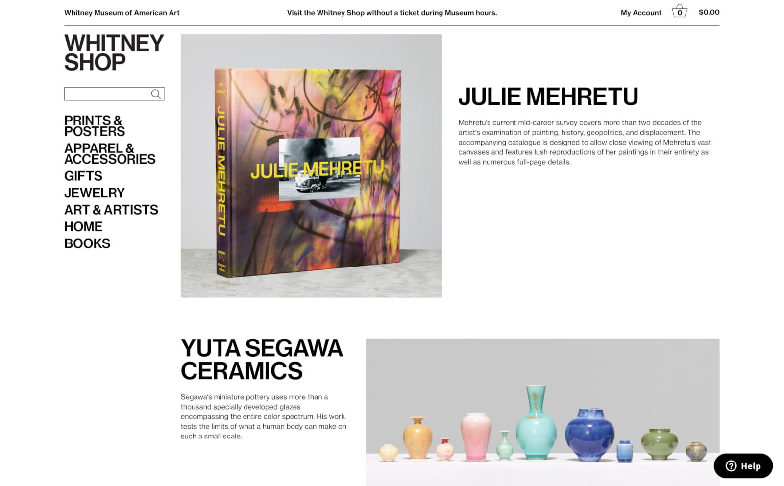 Whitney Museum of American Art Screenshot Thumbnail