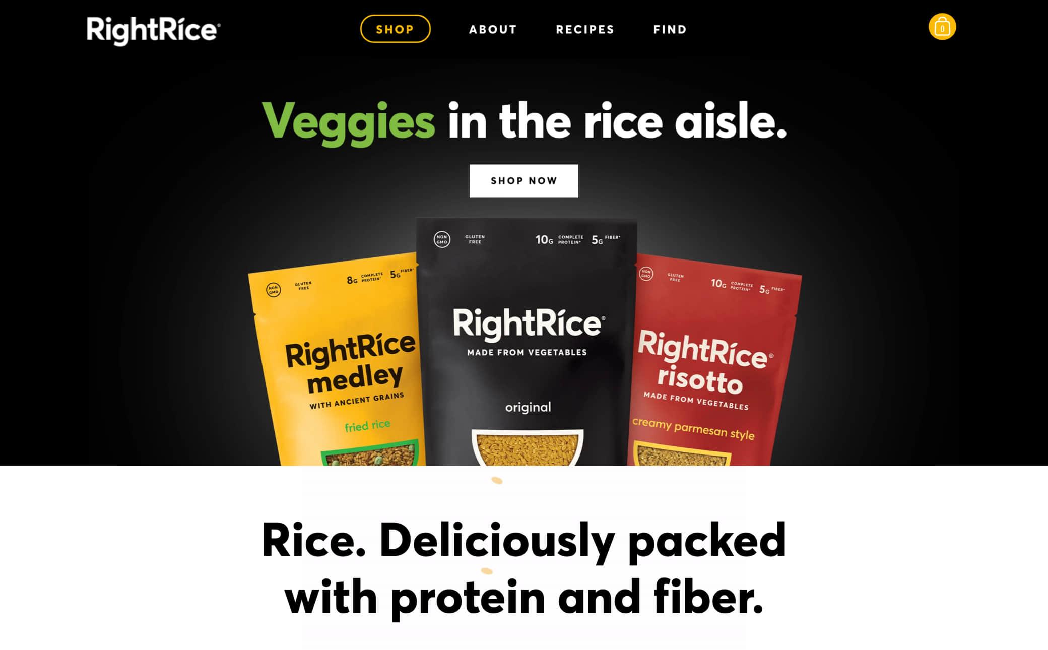 RightRice Screenshot Main