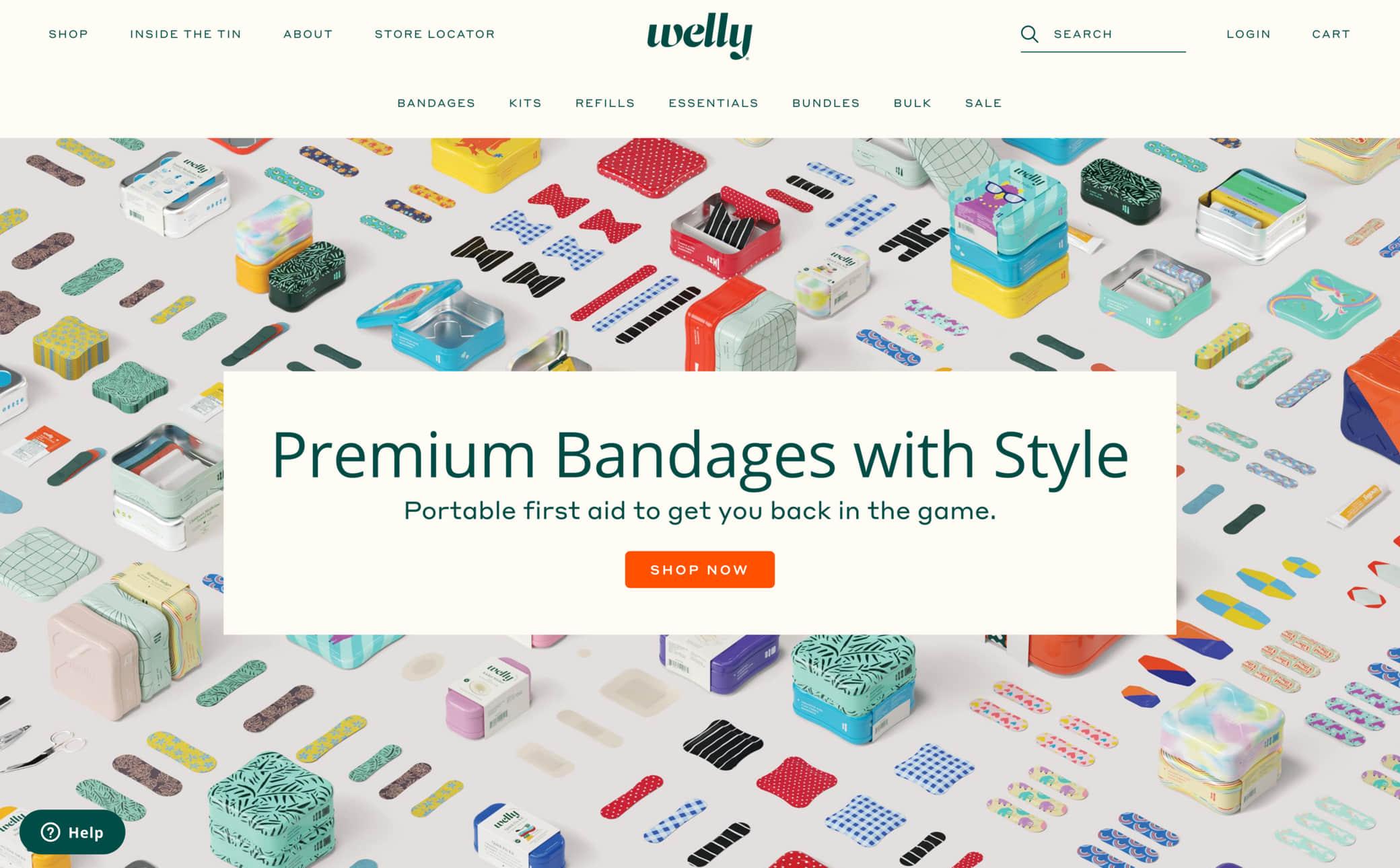Welly Screenshot Main