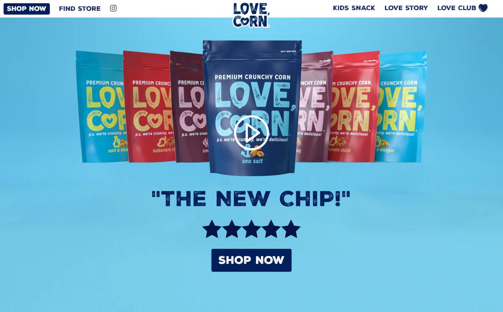 LOVE CORN Screenshot Thumbnail