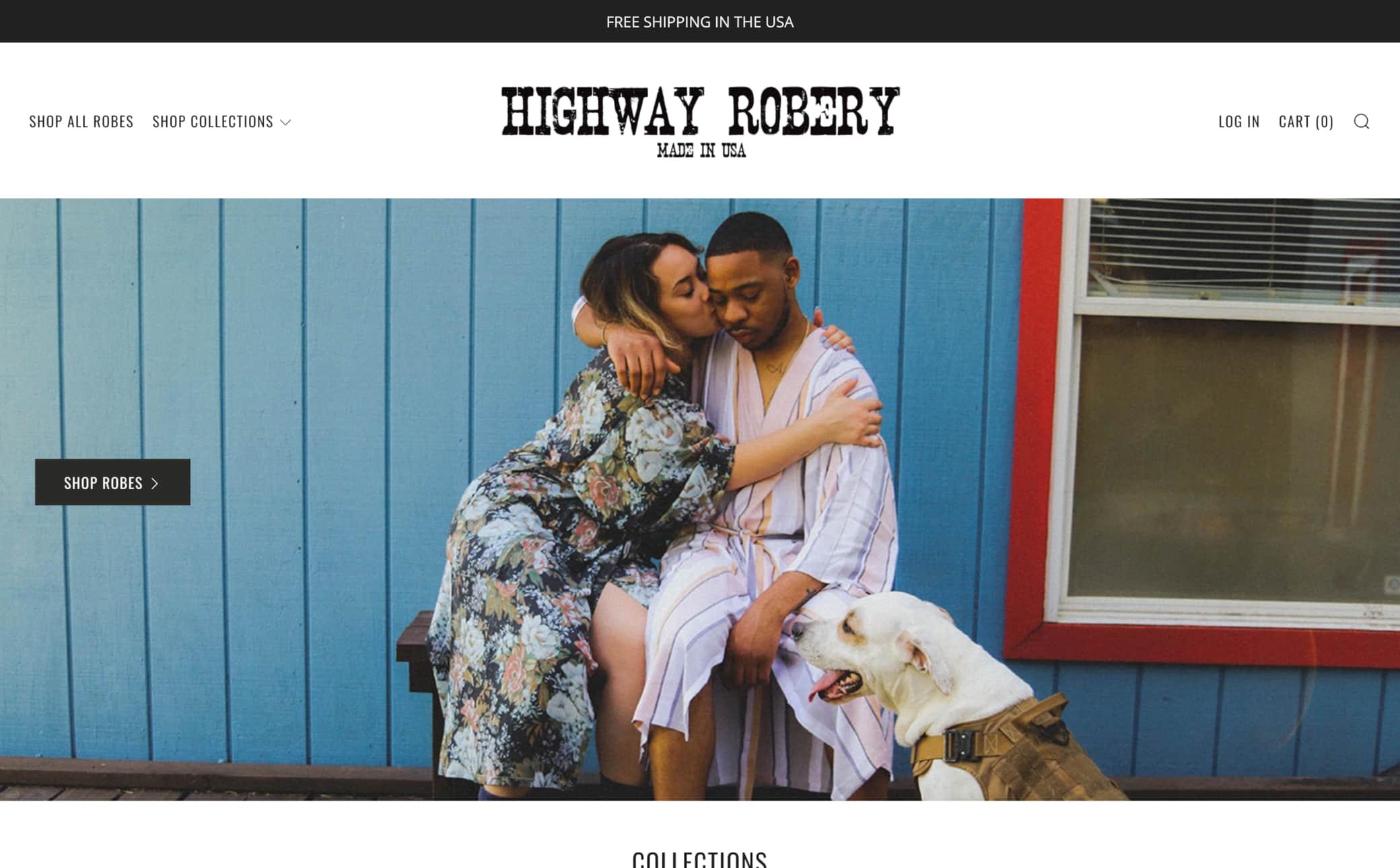 Highway Robery Screenshot Main