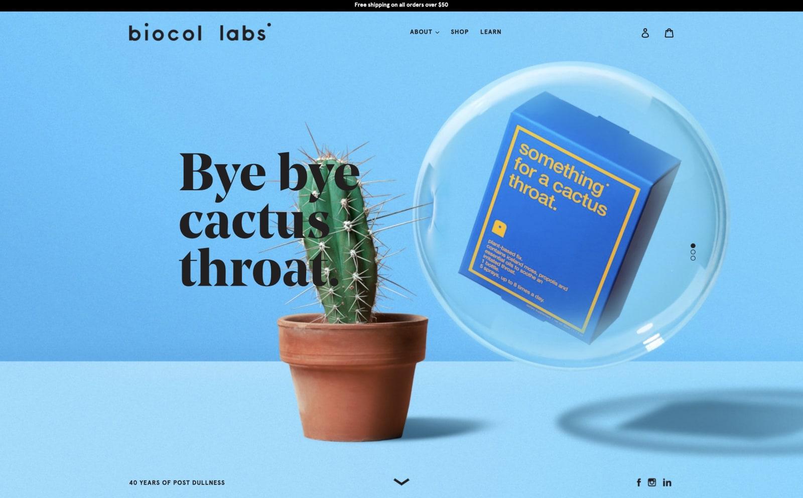 Biocol Labs Screenshot Thumbnail