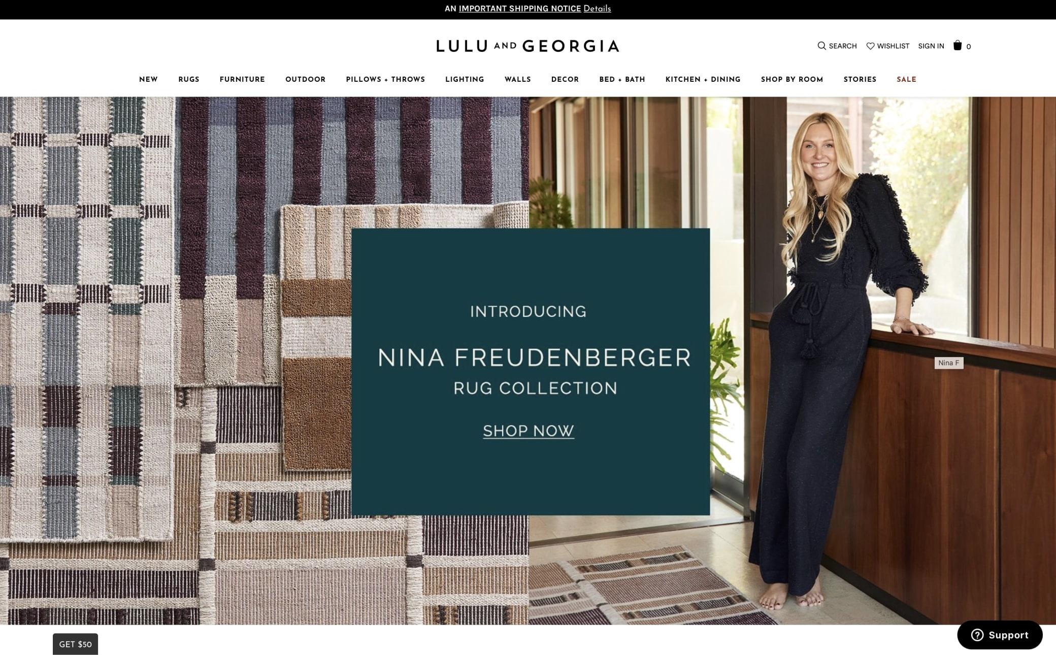 Lulu and Georgia Screenshot Main