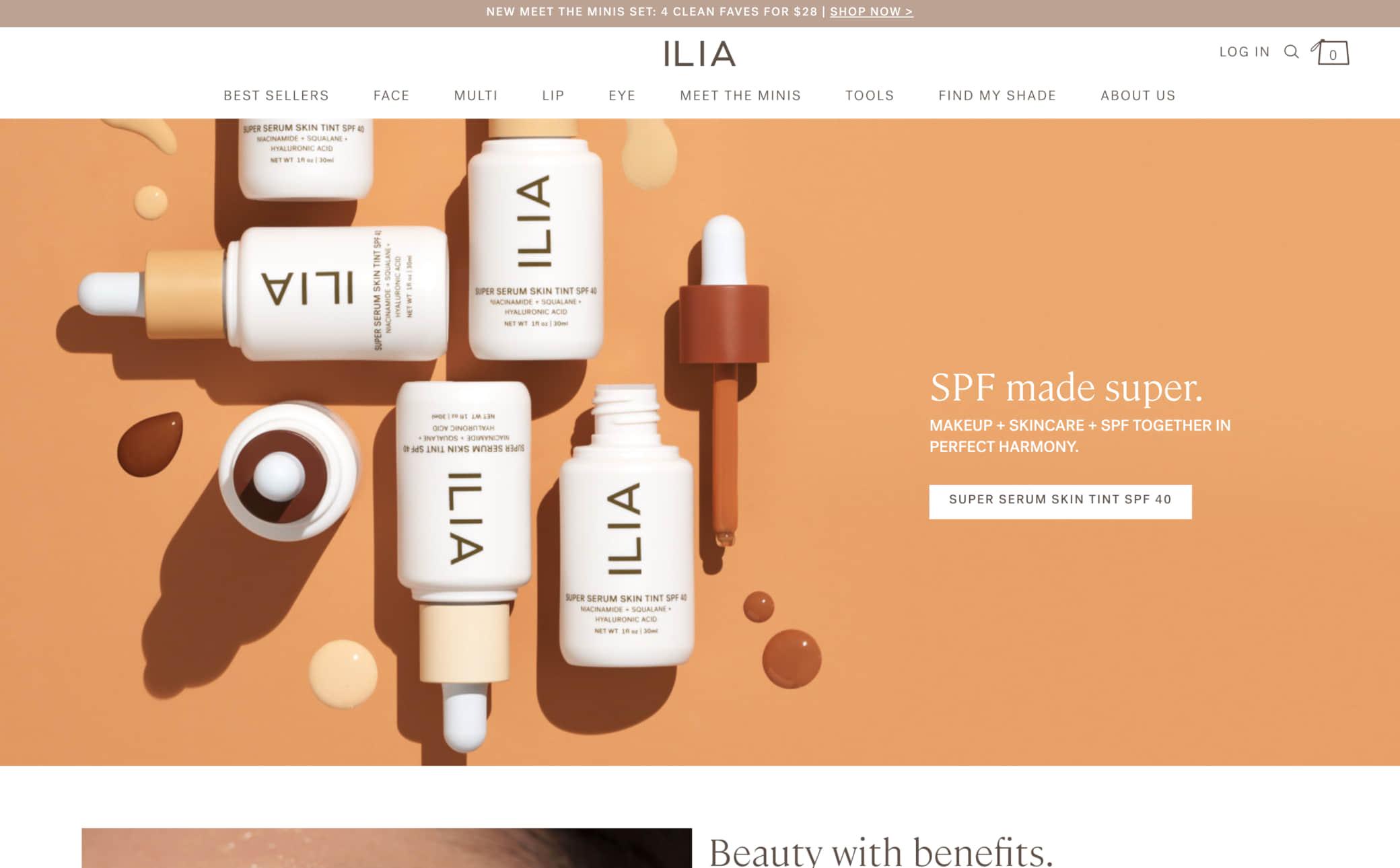 ILIA Screenshot Main