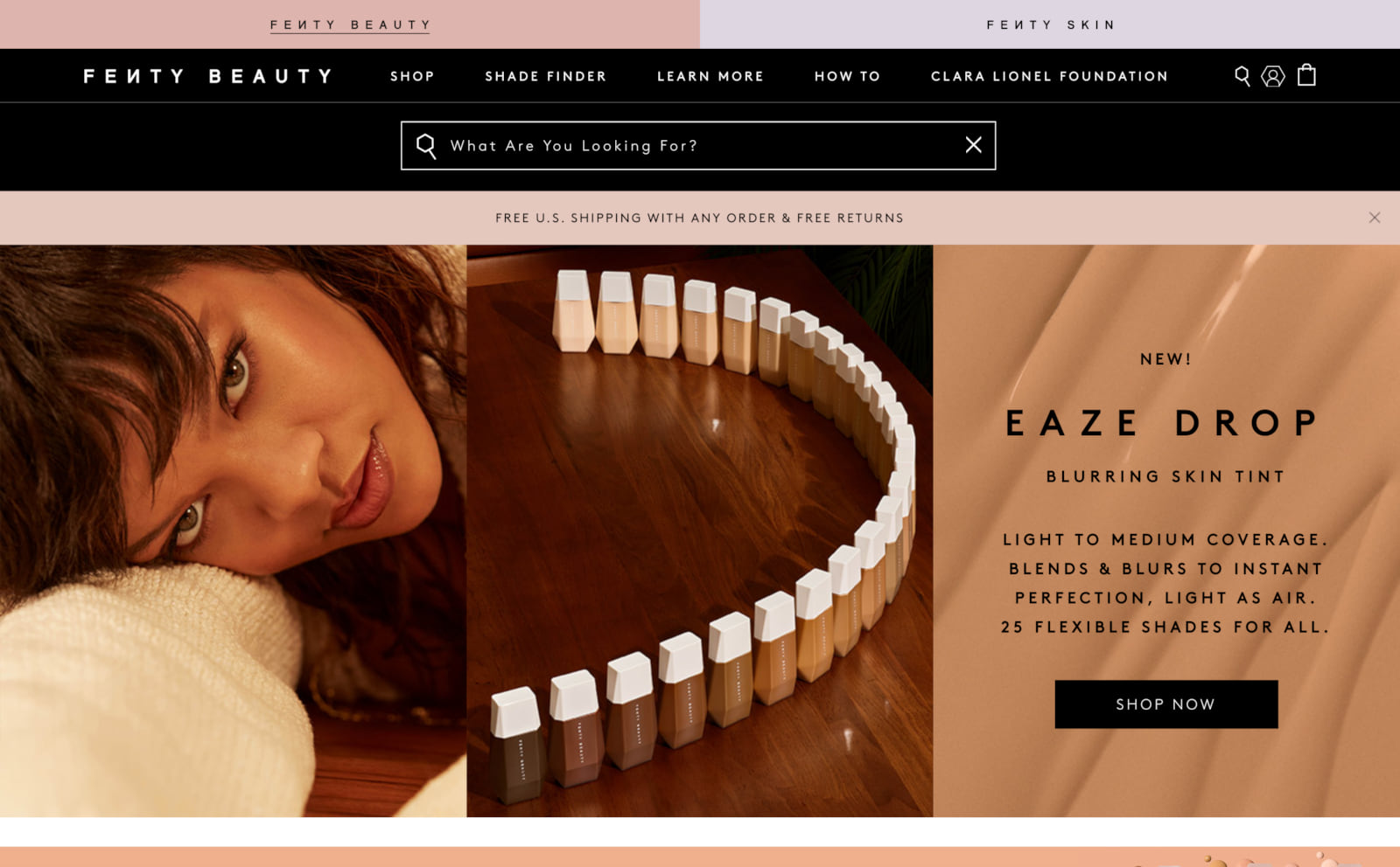 Fenty Beauty Screenshot Thumbnail