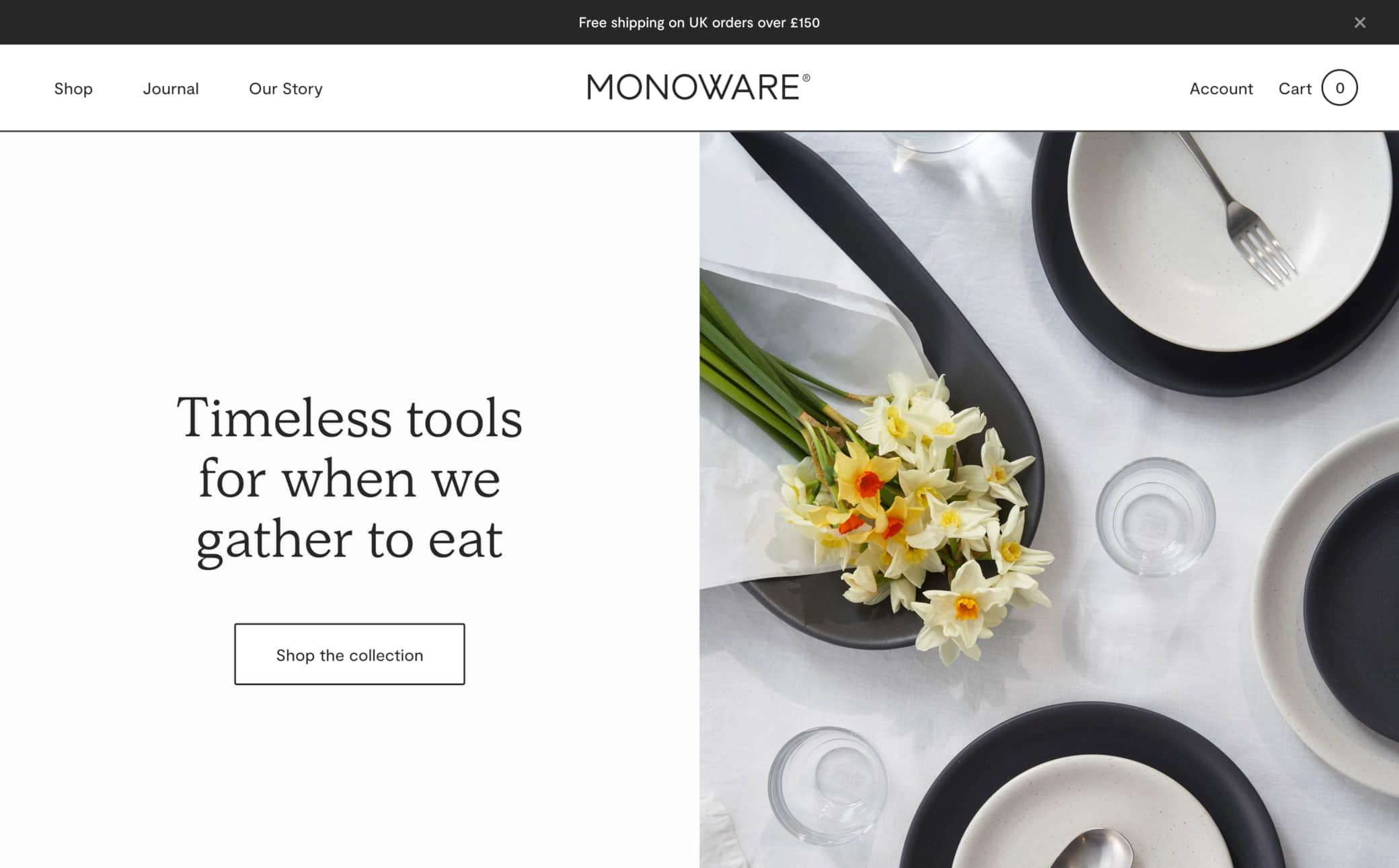 Monoware Screenshot Main