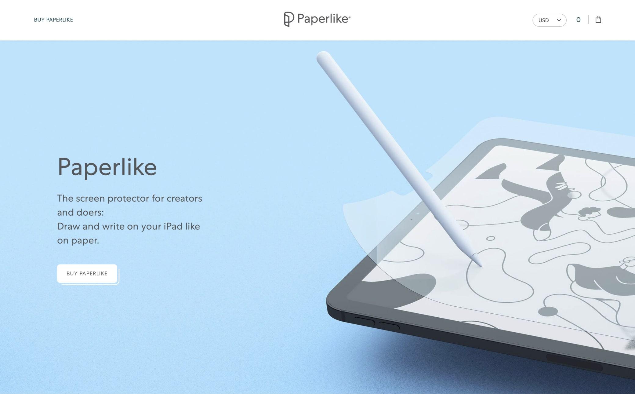 Paperlike Screenshot Main